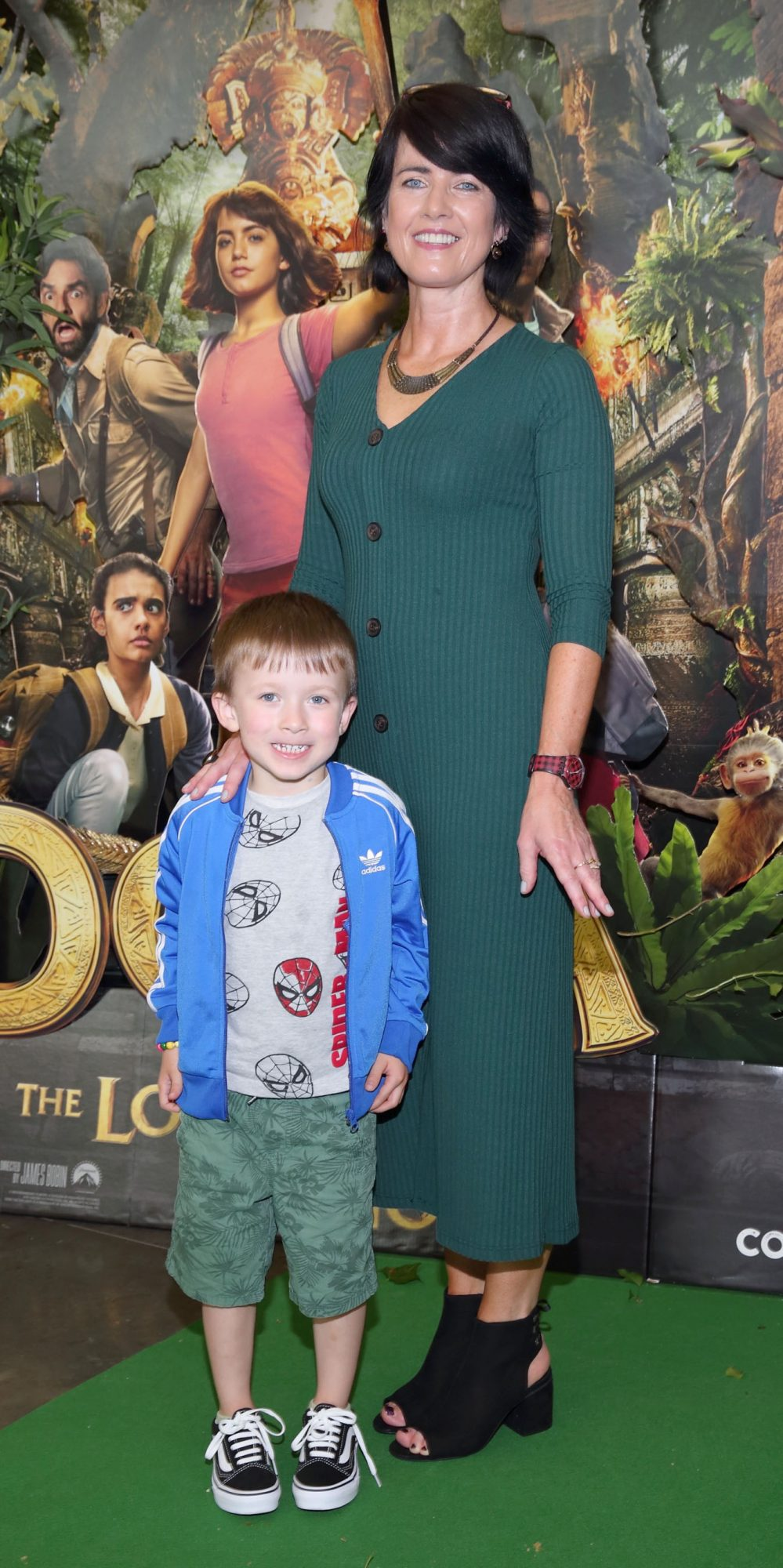 Laura Wall and Jacob Wall at the special preview screening of Dora and the Lost City of Gold at the Odeon Cinema in Point Square,Dublin. Pic Brian McEvoy Photography