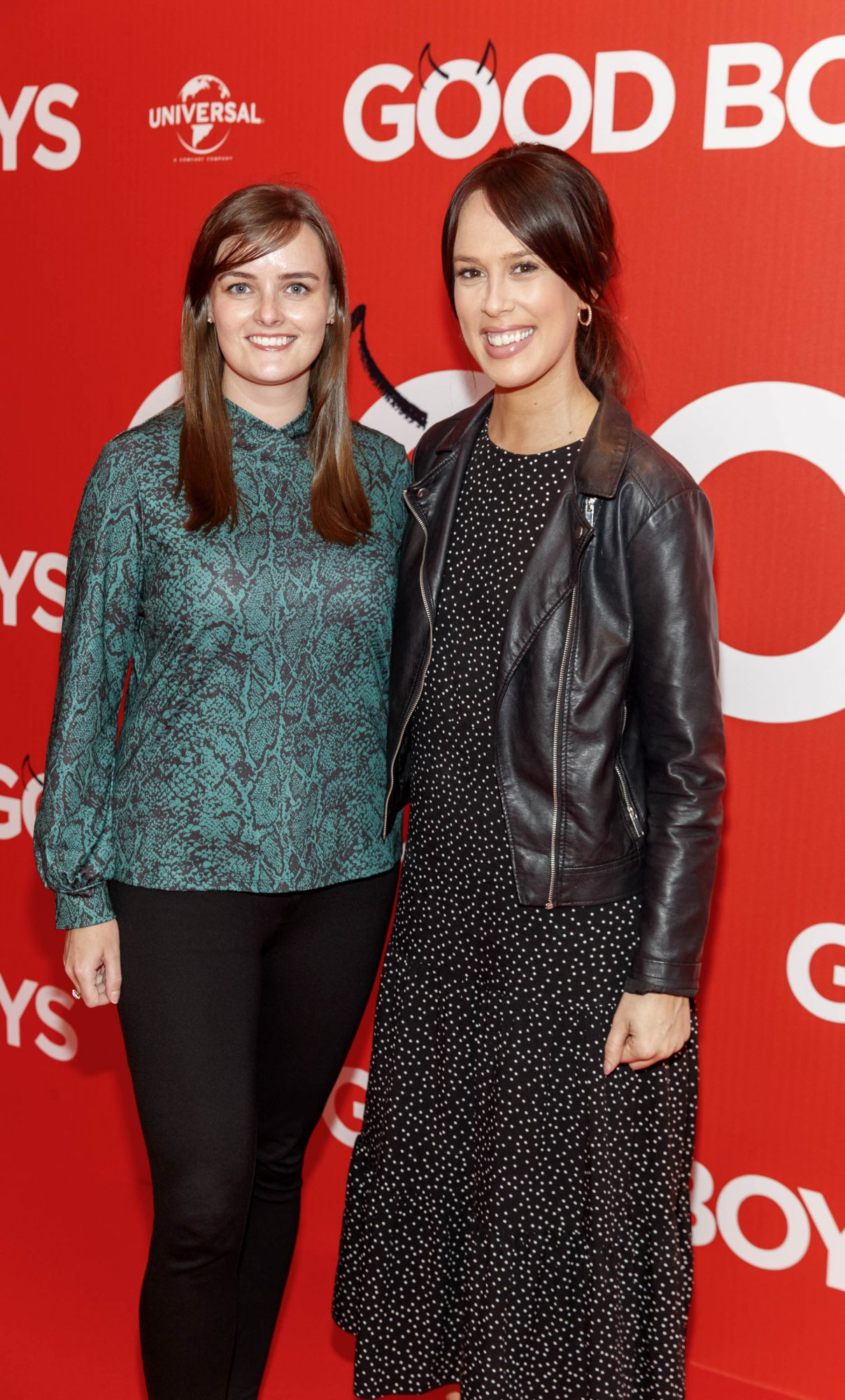 Aileen Gaskin and Catherine O'Connor pictured at a special preview screening of Good Boys at the Light House Cinema, Dublin. Picture: Andres Poveda