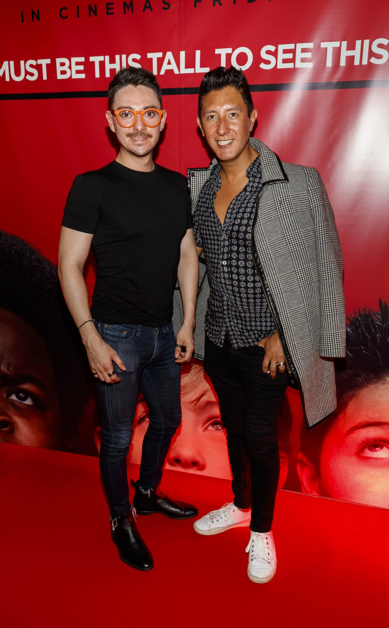 Edgar Vargas and Victor O'Reegan pictured at a special preview screening of Good Boys at the Light House Cinema, Dublin. Picture: Andres Poveda