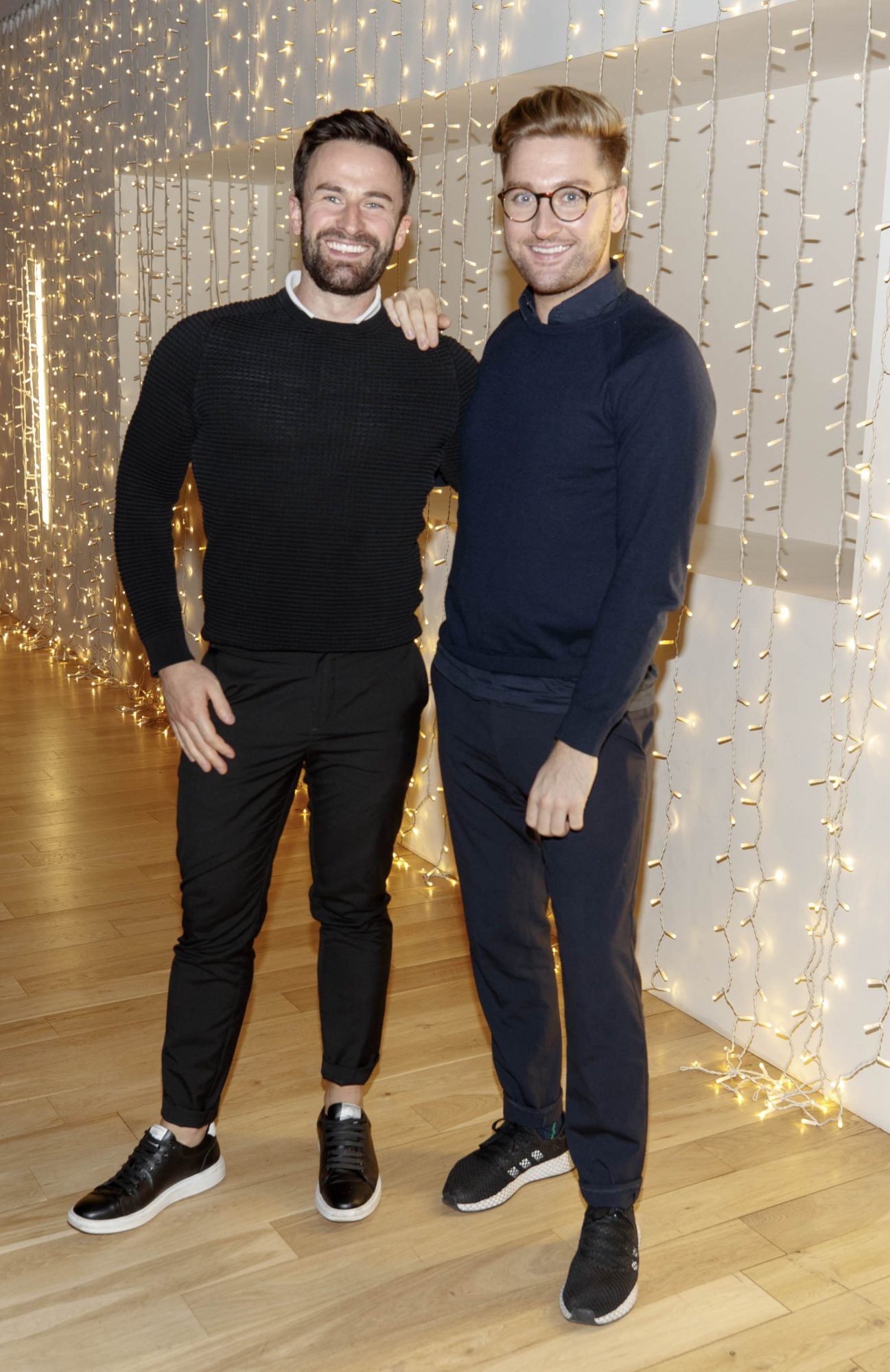 Shane Cassidy and Rob Kenny pictured at a special preview screening of Good Boys at the Light House Cinema, Dublin. Picture: Andres Poveda