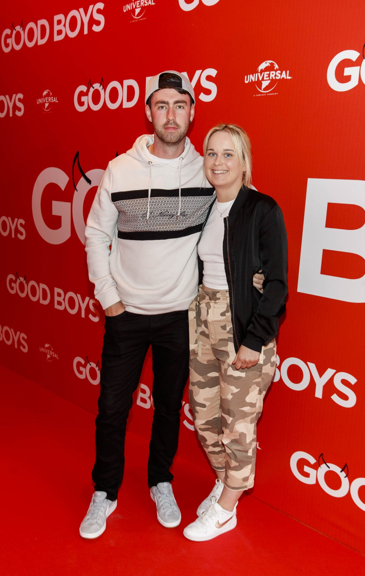 Ian Adams and Gemma Kelly pictured at a special preview screening of Good Boys at the Light House Cinema, Dublin. Picture: Andres Poveda