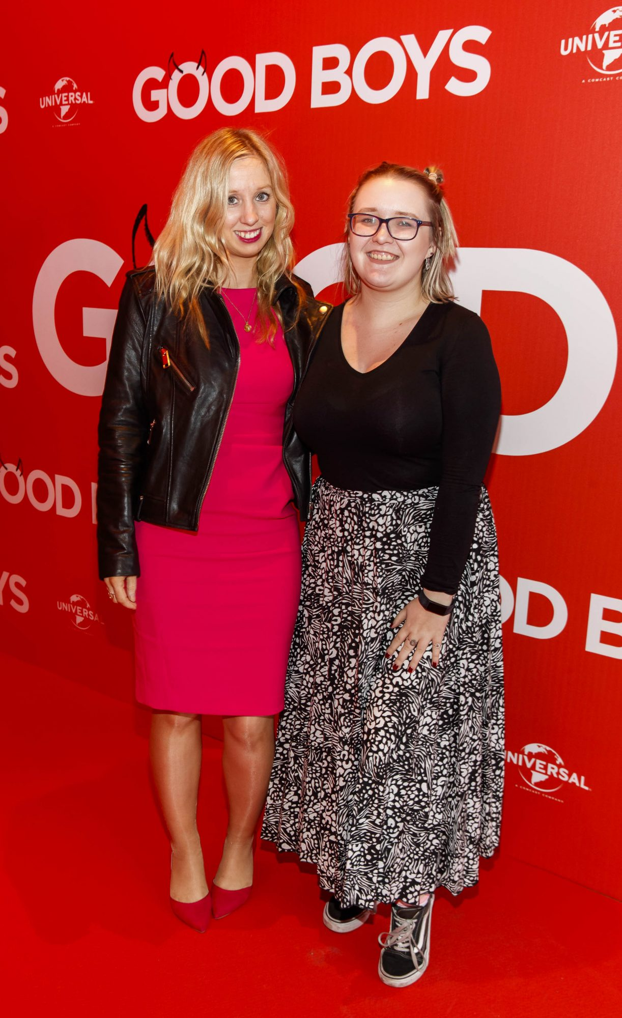 Claire Hyland and Bromwyn O'Neill pictured at a special preview screening of Good Boys at the Light House Cinema, Dublin. Picture: Andres Poveda
