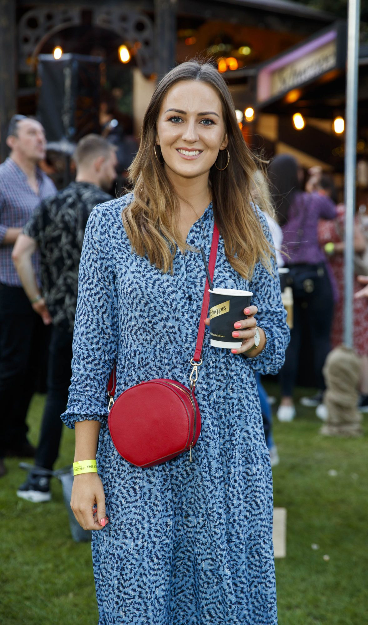 Sadhbh Higgins at the Schweppes #UltimateMixer Sessions at The Big Grill festival in Herbert Park, Dublin, where guests sipped on expertly crafted cocktails and enjoyed live music mixes from Irish bands and DJs. Picture: Andres Poveda