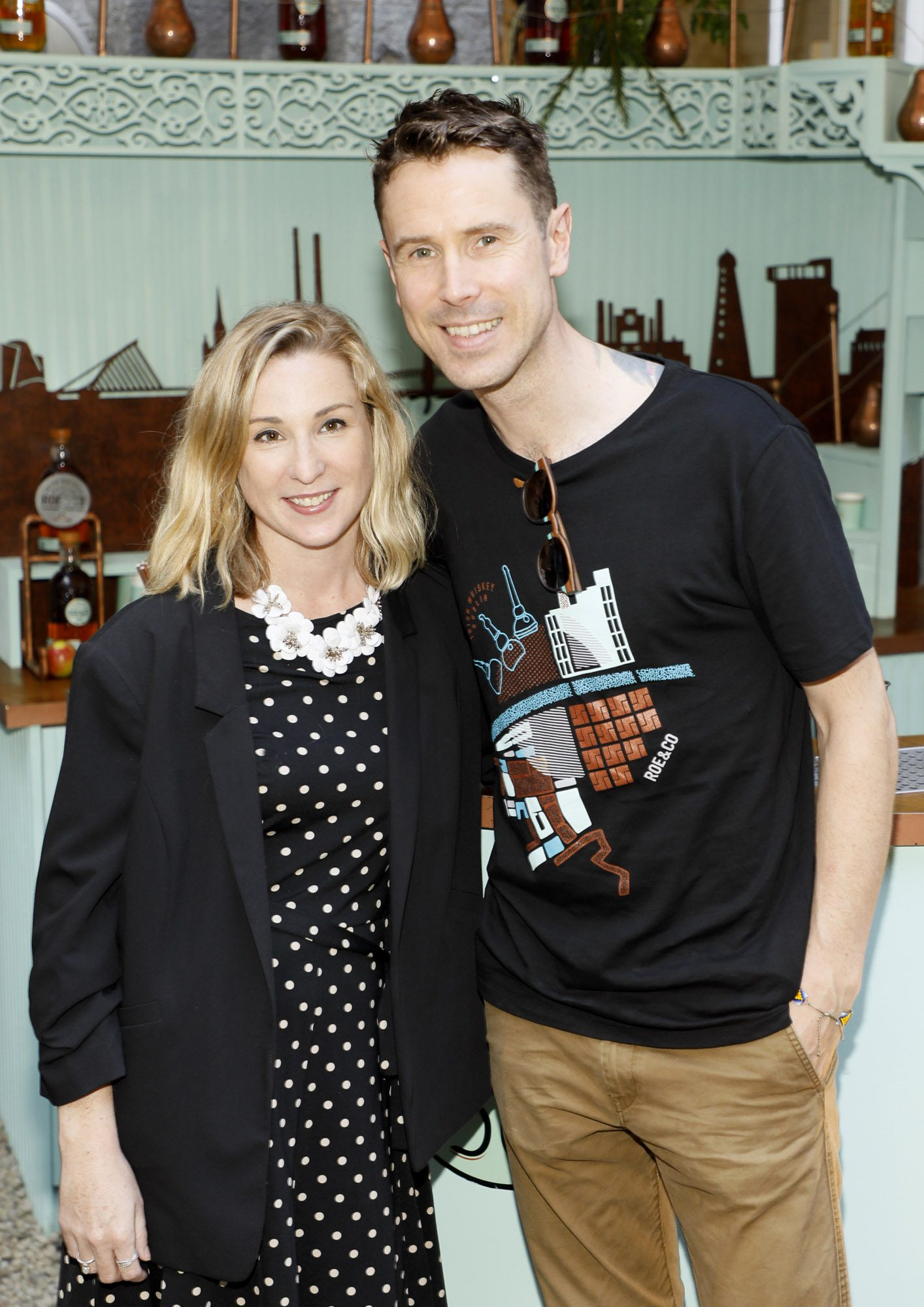 Aoife Finnegan and Nial Molloy at the launch of Taste the Island, a 12 week celebration of Ireland's seasonal ingredients, adventurous tastes and bold experiences taking place this September, October and November. Photo: Kieran Harnett