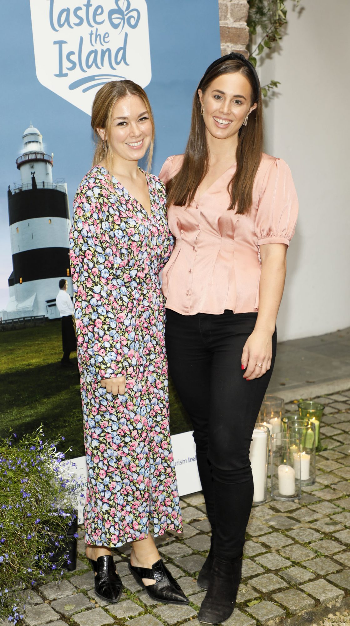 Elizabeth Fearns and Jenny Mulvin at the launch of Taste the Island, a 12 week celebration of Ireland's seasonal ingredients, adventurous tastes and bold experiences taking place this September, October and November. Photo: Kieran Harnett