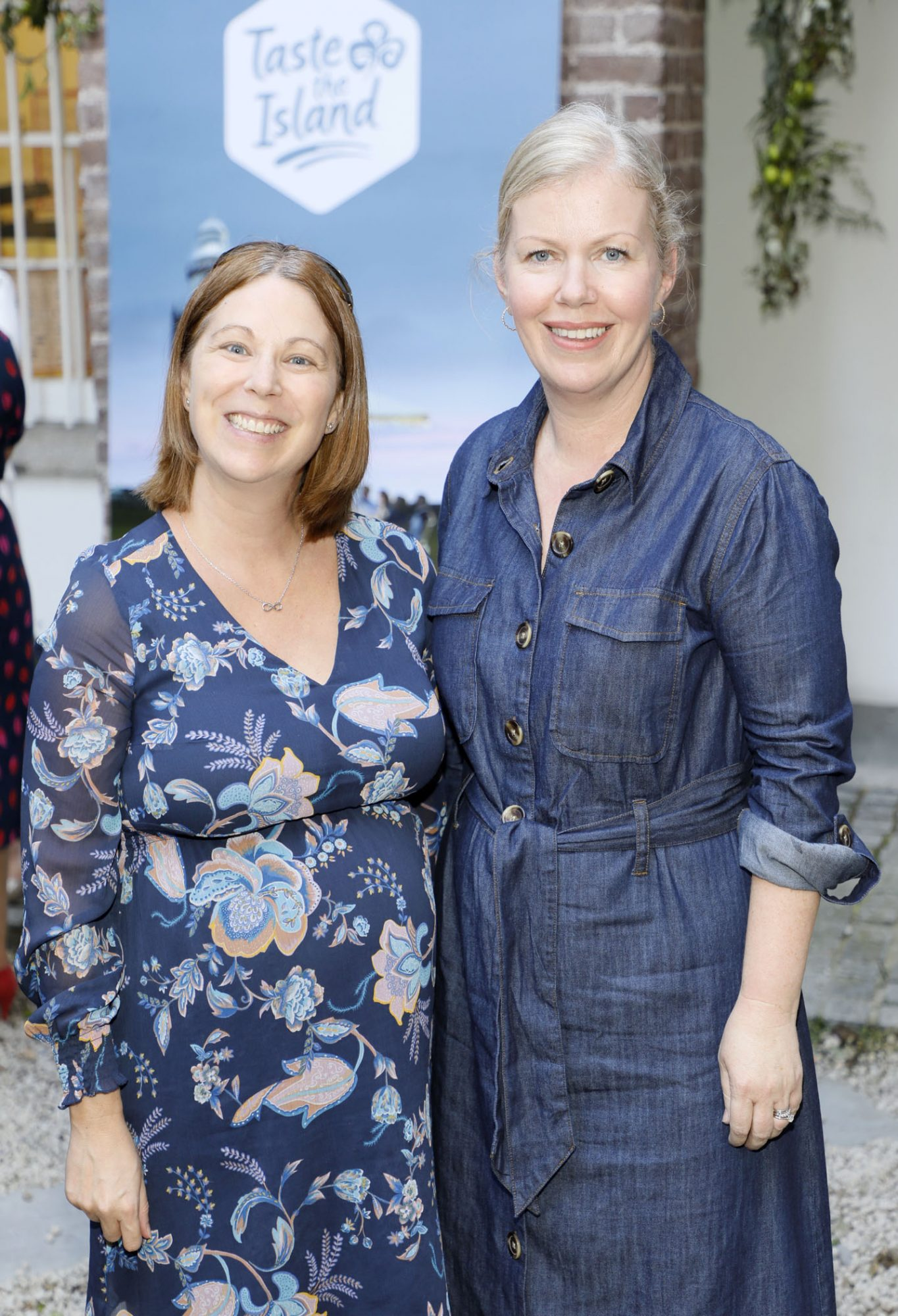 Gísele Mansfield and Maureen Bergin at the launch of Taste the Island, a 12 week celebration of Ireland's seasonal ingredients, adventurous tastes and bold experiences taking place this September, October and November. Photo: Kieran Harnett