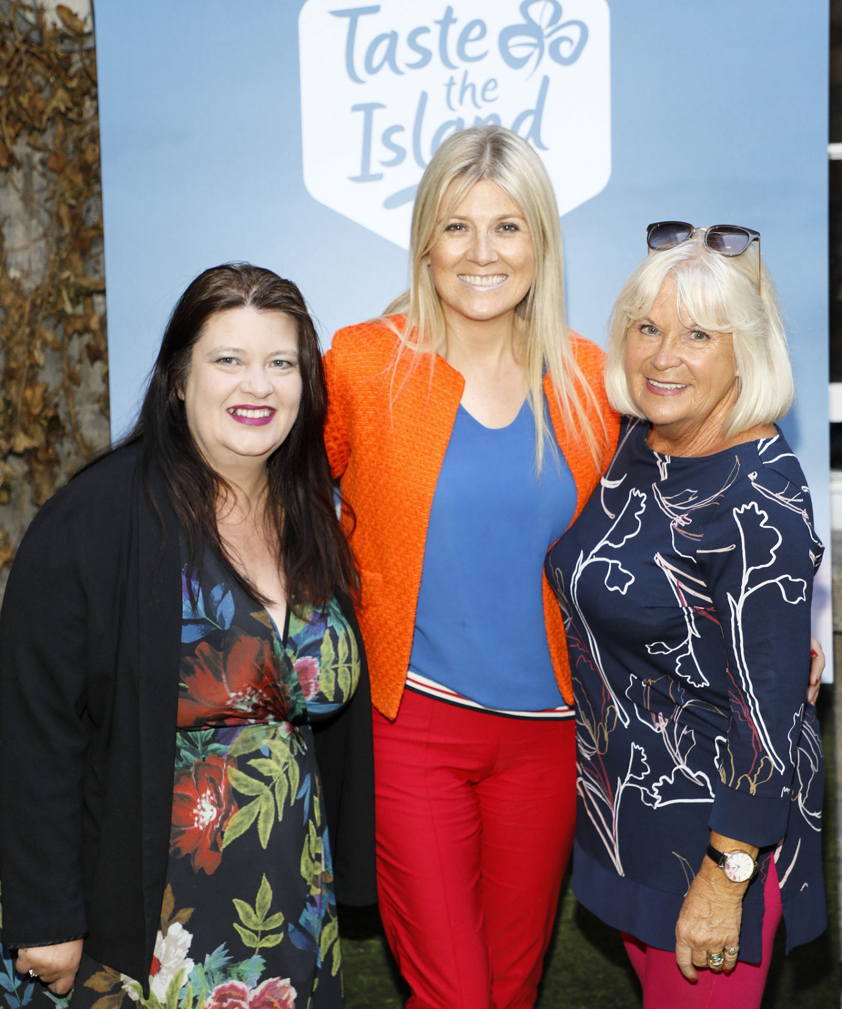 Naomi Waite, Fiona Cunningham and Jacinta McGlynn at the launch of Taste the Island, a 12 week celebration of Ireland's seasonal ingredients, adventurous tastes and bold experiences taking place this September, October and November. Photo: Kieran Harnett