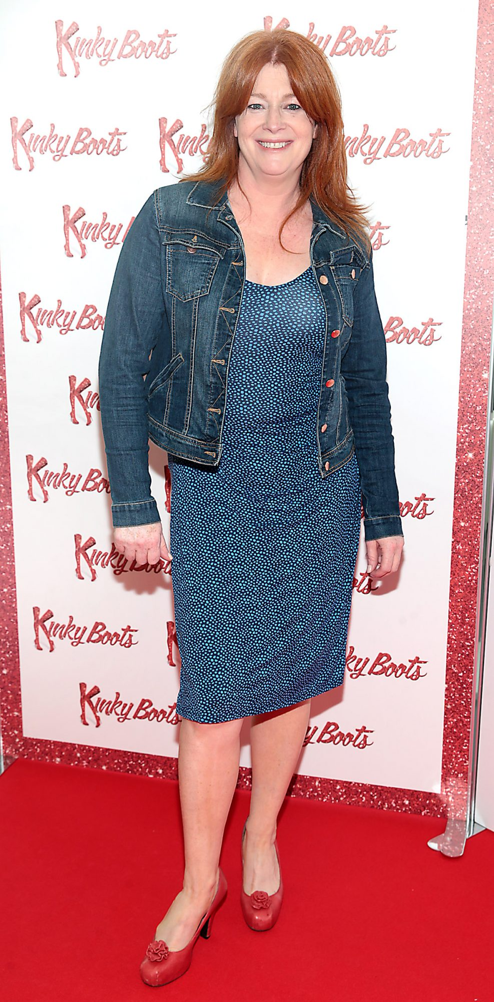 Blathnaid Ni Chofaigh at the opening of the musical Kinky Boots at the Bord Gais Energy Theatre, Dublin.  Picture: Brian McEvoy