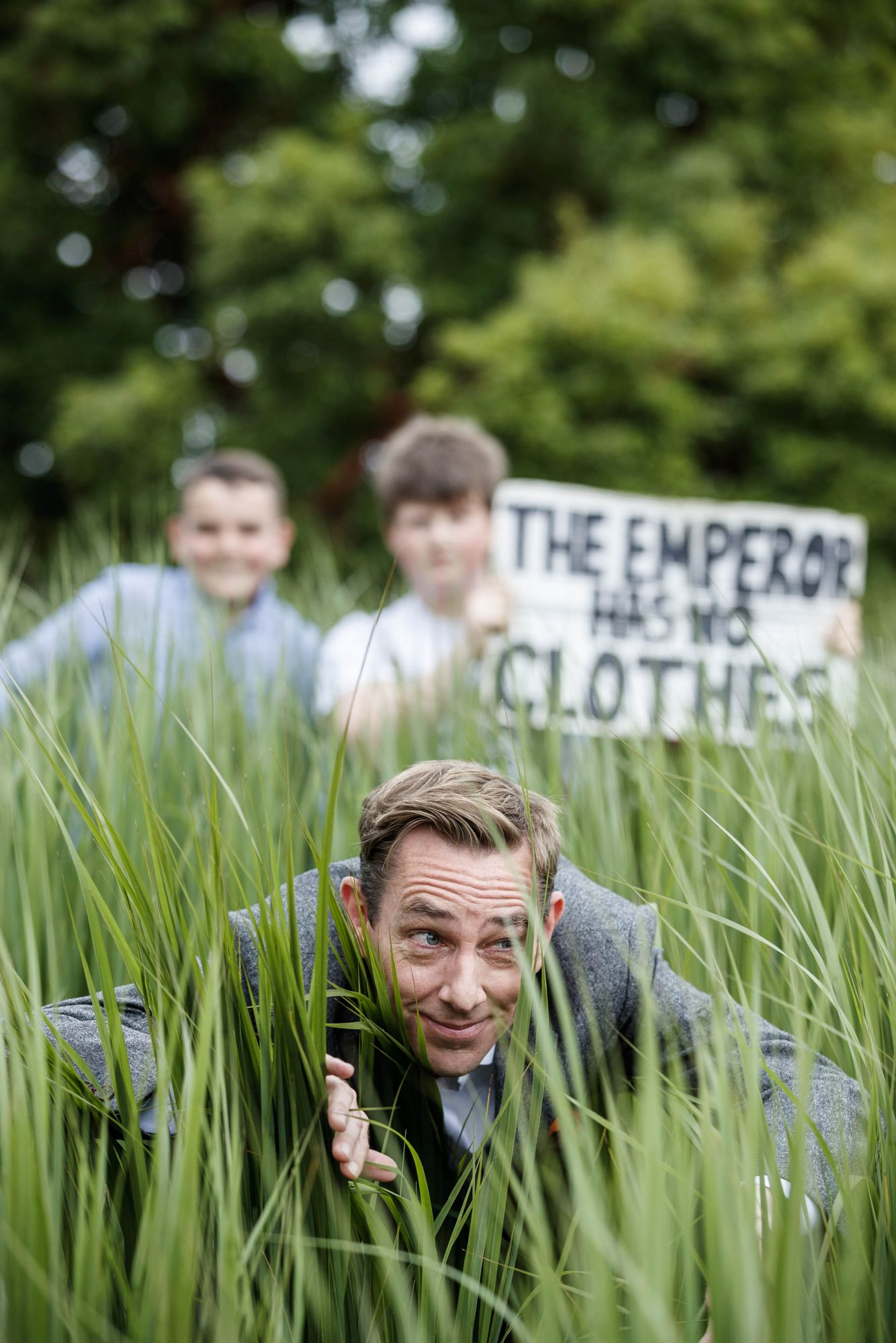 Ryan Tubridy pictured with youth climate activists James Dunne (16) from Dublin and Saoi O'Connor (16) from Skibbeen Co Cork as RTÉ today announced a slate of new impactful Irish programming, star signings and a strong focus on climate as part of its upcoming new season. Picture: Andres Poveda