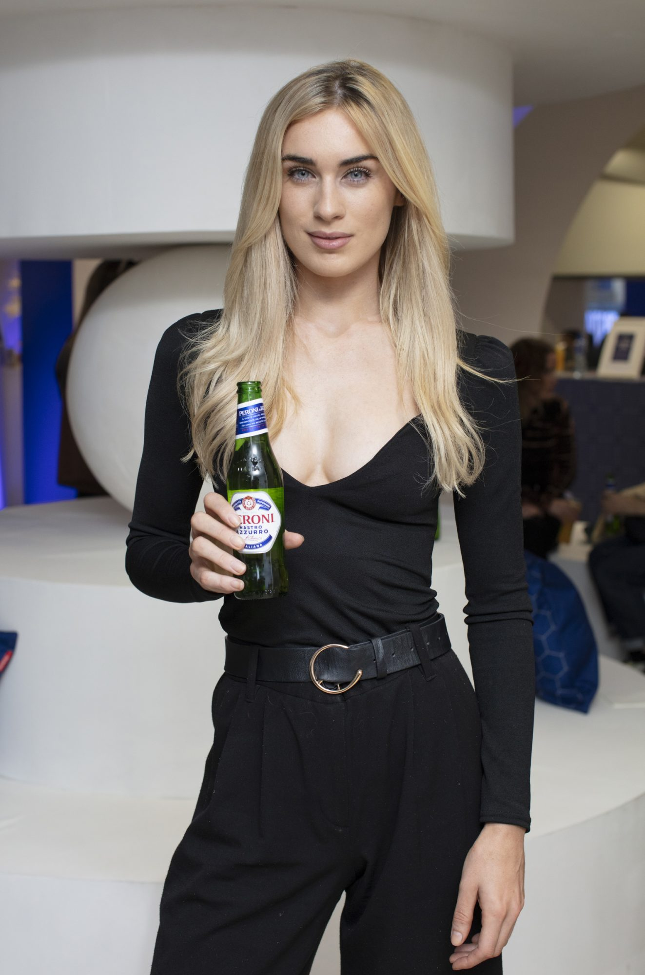 Aimee Boyle pictured at the launch of The House of Peroni, which is open at the RHA in Dublin until Sunday, 1st September 2019. This year's residency sees the RHA transformed into a stylish Peroni inspired experience, filled with food, drink and design. www.thehouseofperoni.com Photo: Anthony Woods.
