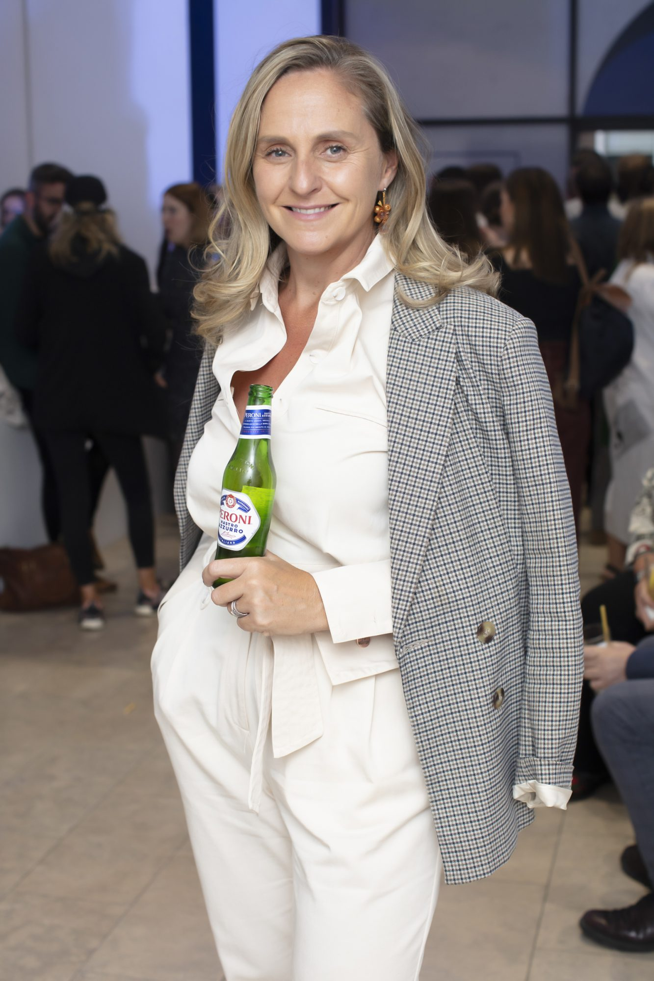 Debbie O'Donnell pictured at the launch of The House of Peroni, which is open at the RHA in Dublin until Sunday, 1st September 2019. This year's residency sees the RHA transformed into a stylish Peroni inspired experience, filled with food, drink and design. www.thehouseofperoni.com Photo: Anthony Woods.
