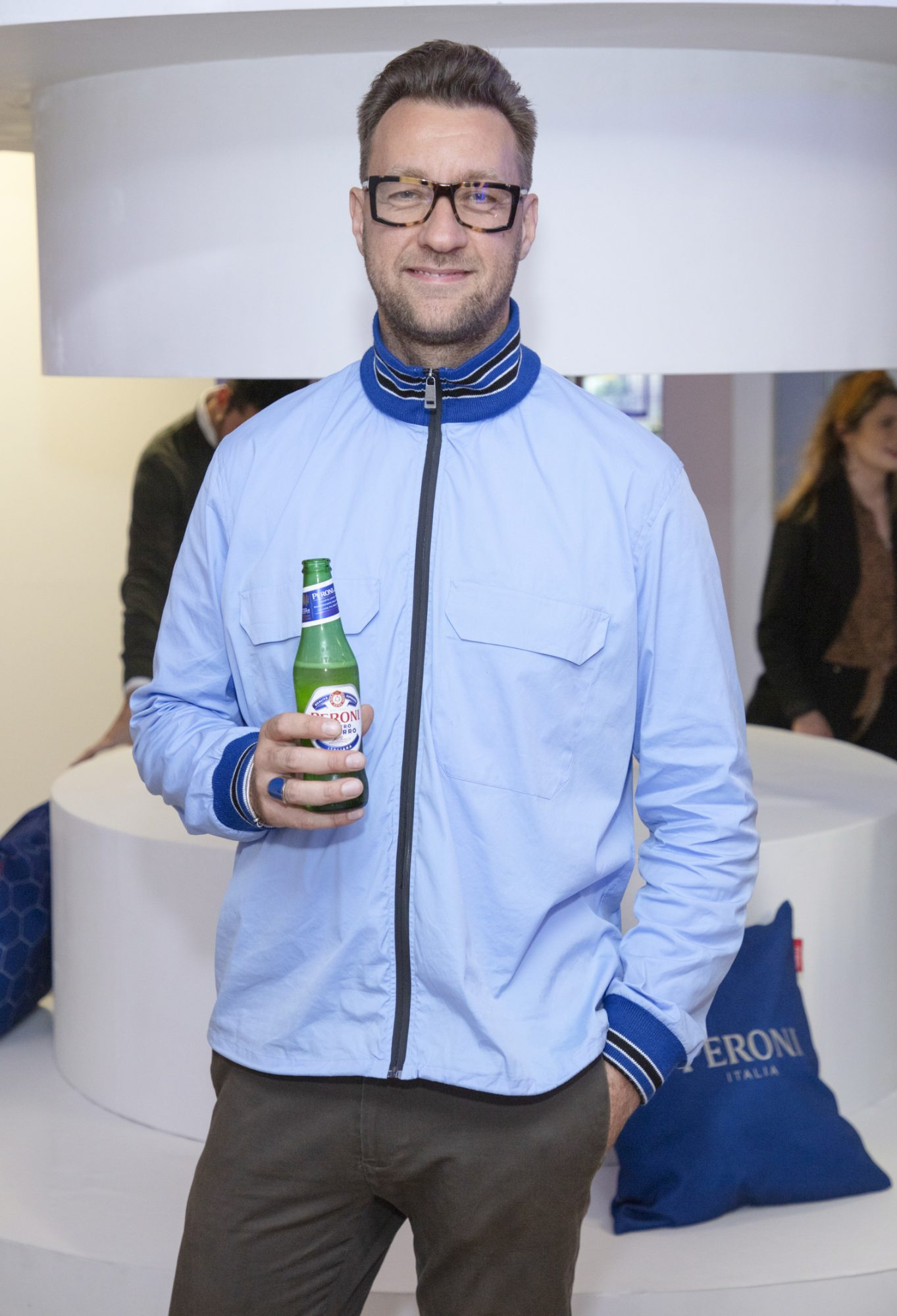 Federico Riezzo pictured at the launch of The House of Peroni, which is open at the RHA in Dublin until Sunday, 1st September 2019. This year's residency sees the RHA transformed into a stylish Peroni inspired experience, filled with food, drink and design. www.thehouseofperoni.com Photo: Anthony Woods.