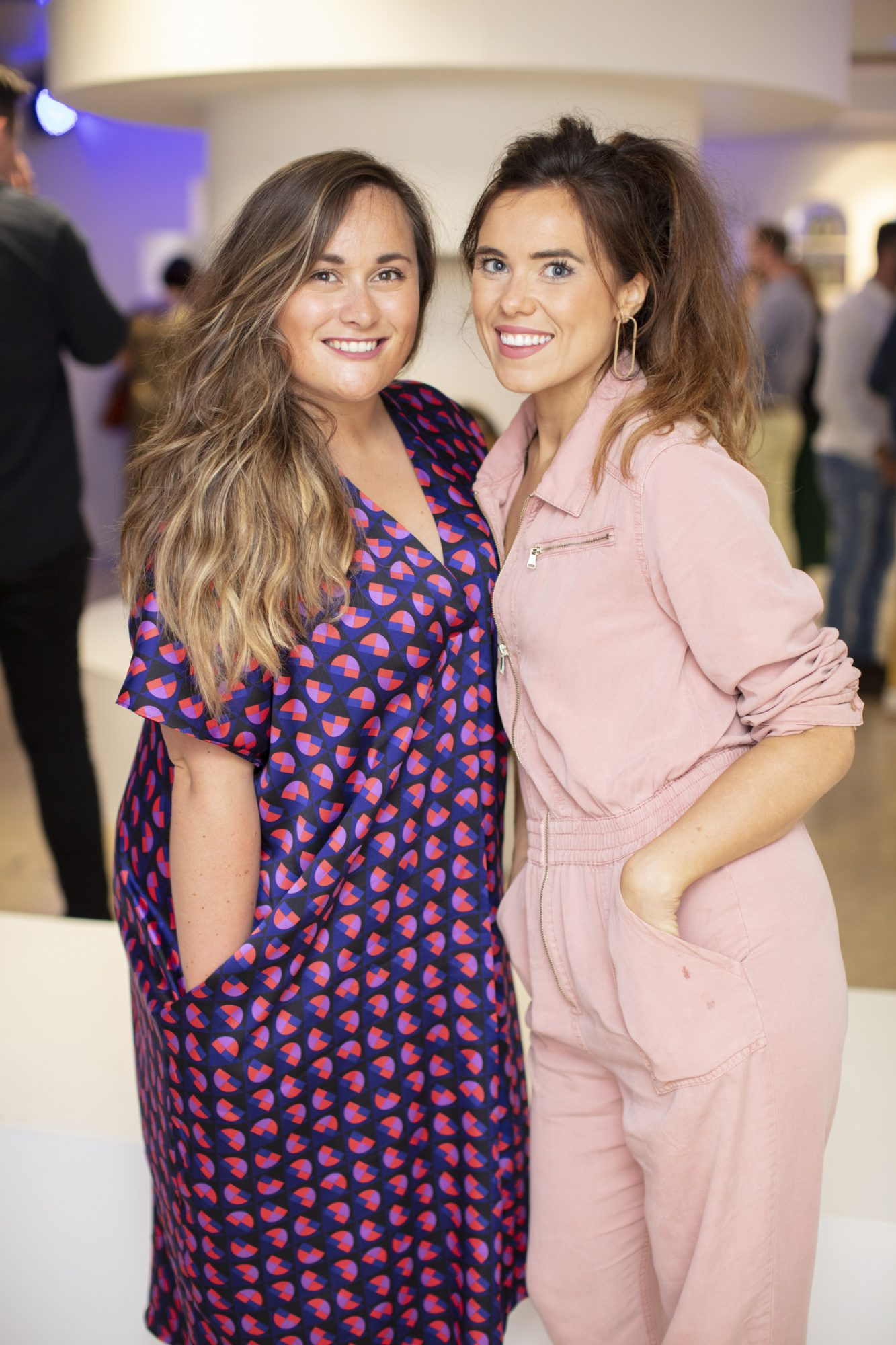Jennifer Wilson & Lauren Small pictured at the launch of The House of Peroni, which is open at the RHA in Dublin until Sunday, 1st September 2019. This year's residency sees the RHA transformed into a stylish Peroni inspired experience, filled with food, drink and design. www.thehouseofperoni.com Photo: Anthony Woods.