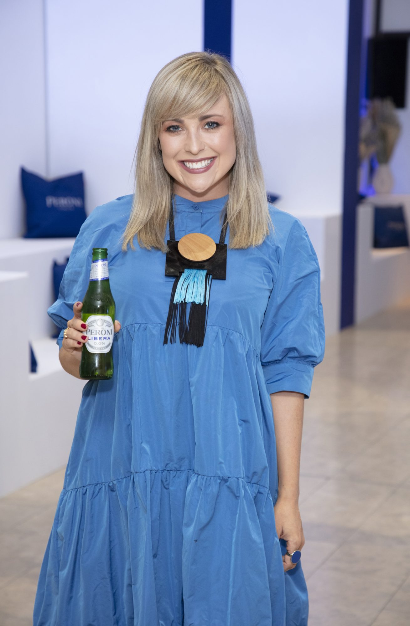 Roisin Lafferty pictured at the launch of The House of Peroni, which is open at the RHA in Dublin until Sunday, 1st September 2019. This year's residency sees the RHA transformed into a stylish Peroni inspired experience, filled with food, drink and design. www.thehouseofperoni.com Photo: Anthony Woods.