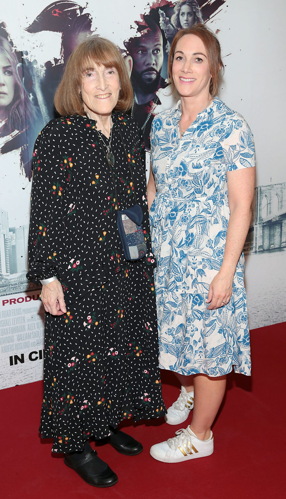 Brenna Katz Clarke and Rachel Clarke at the special preview screening of The Informer at the Lighthouse Cinema Dublin. Pic: Brian McEvoy