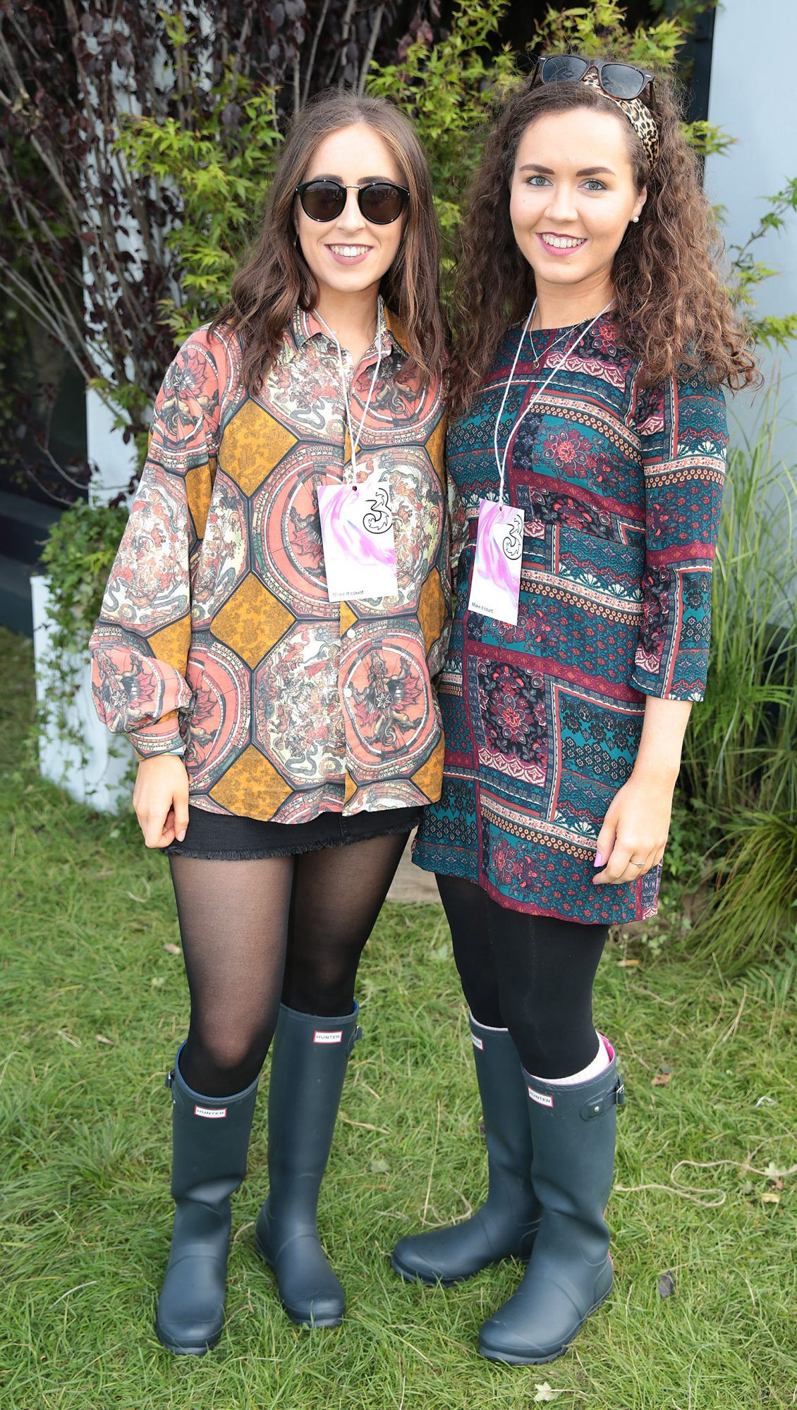 Caoimhe Murray and Sorcha Murray at Three's Charge & Chill at Electric Picnic at Stradbally, Co. Laois. 