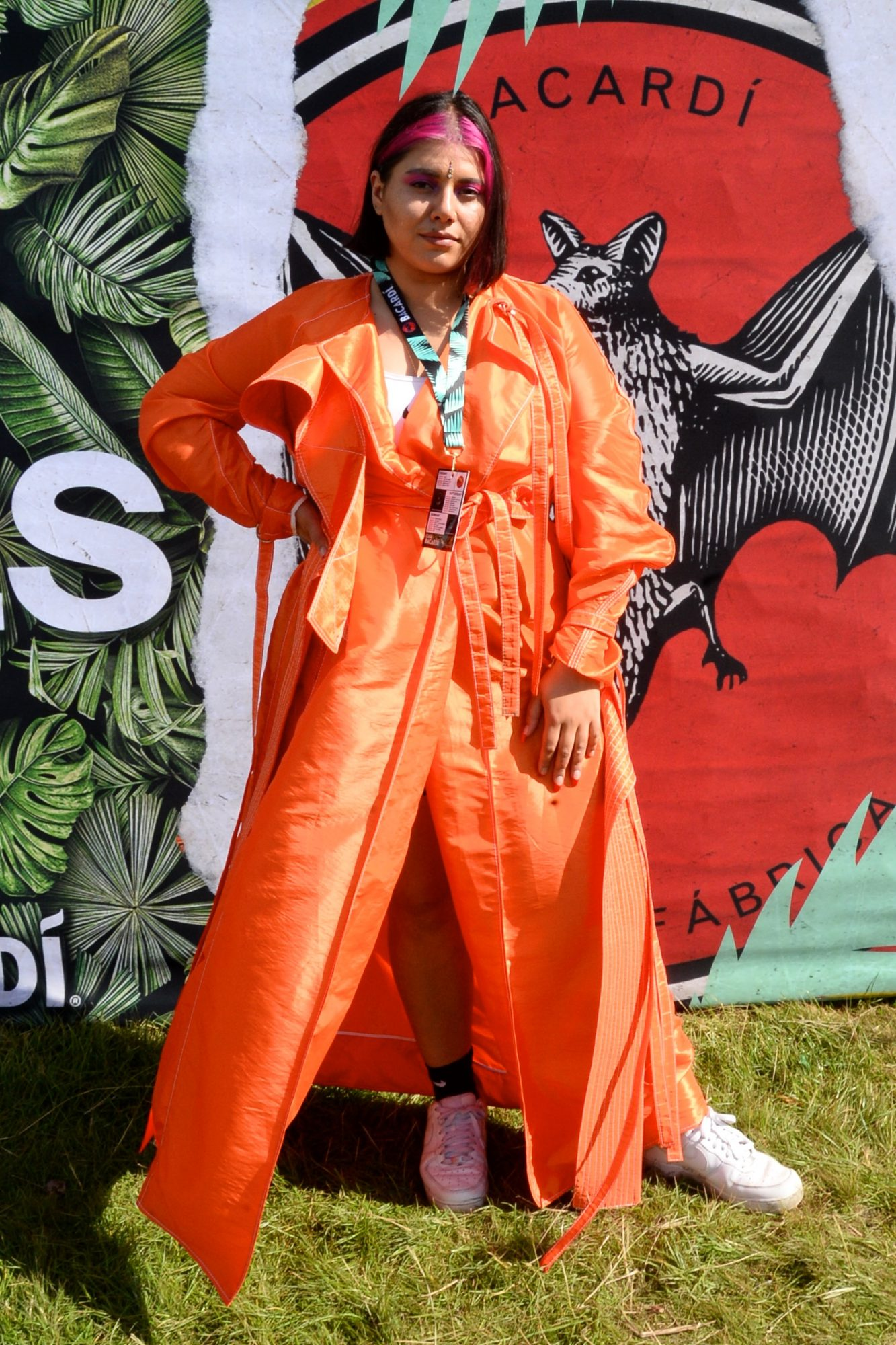 31st August 2019. Tara Stewart pictured at Casa Bacardi on day 2 of Electric Picnic. Photo: Justin Farrelly.