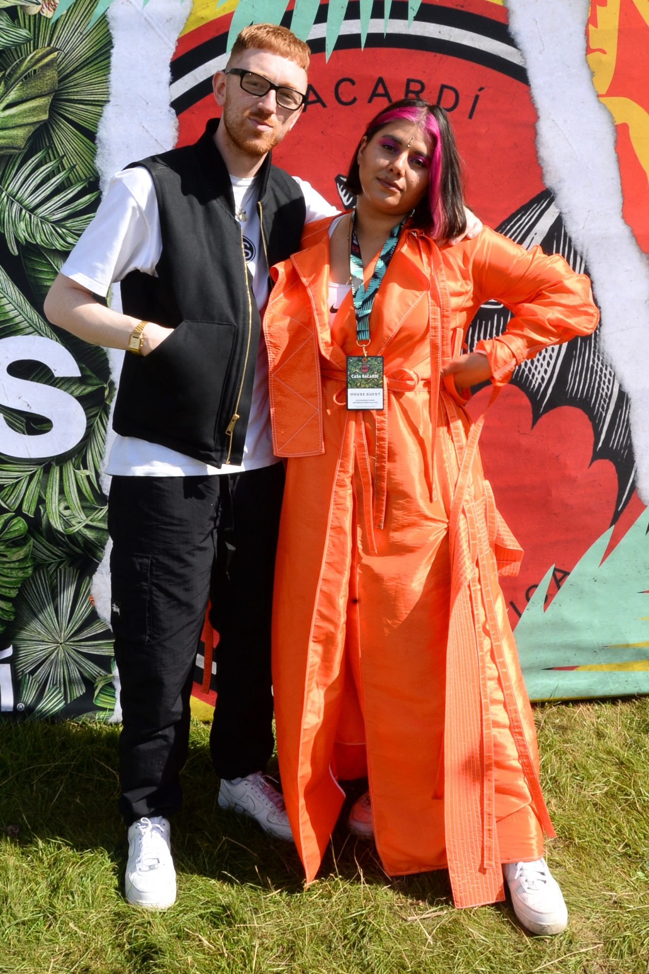 31st August 2019. Tara Stewart and Mango pictured at Casa Bacardi on day 2 of Electric Picnic. Photo: Justin Farrelly.
