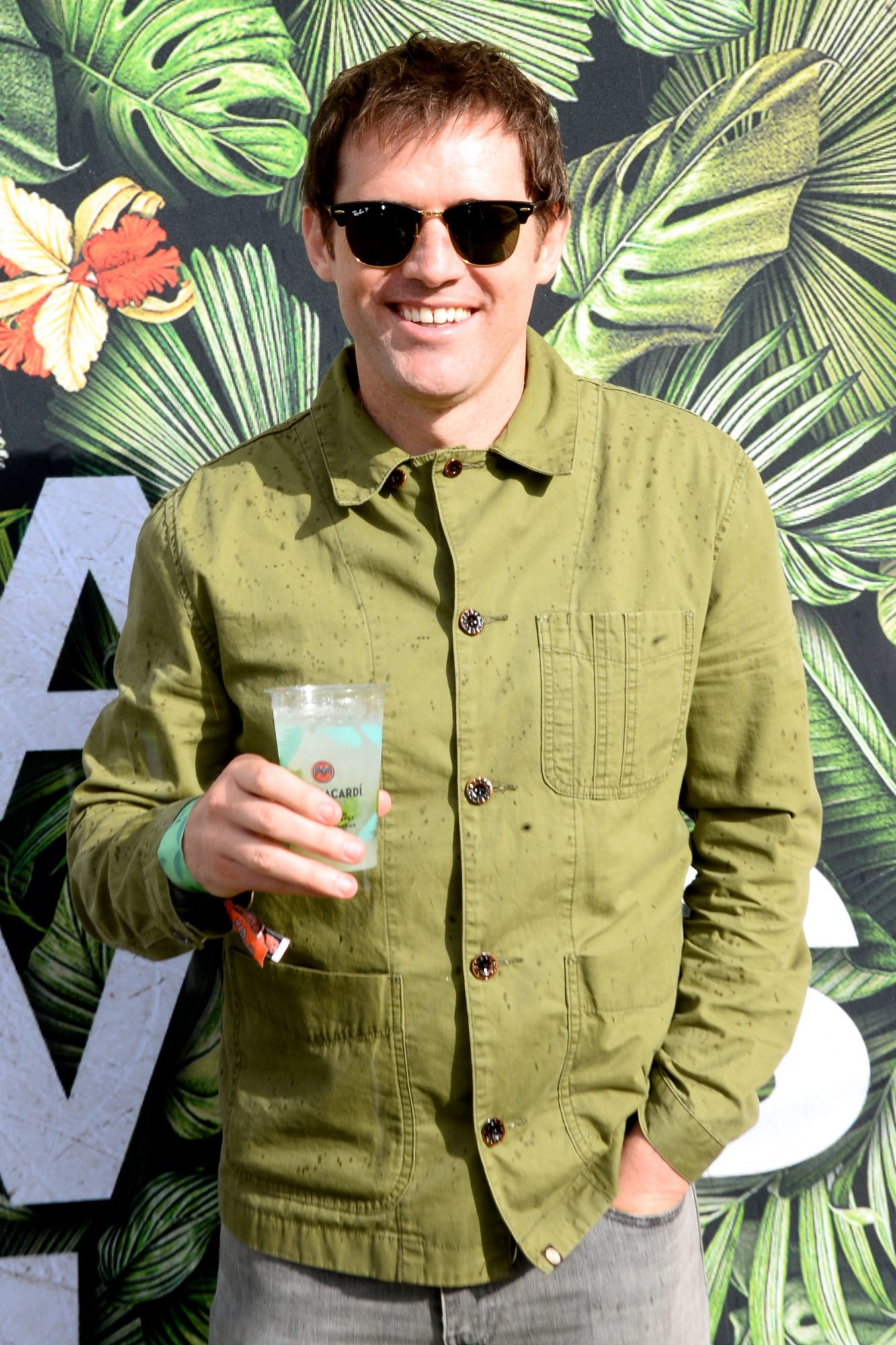 31st August 2019. Kevin Kilbane pictured at Casa Bacardi on day 2 of Electric Picnic. Photo: Justin Farrelly.