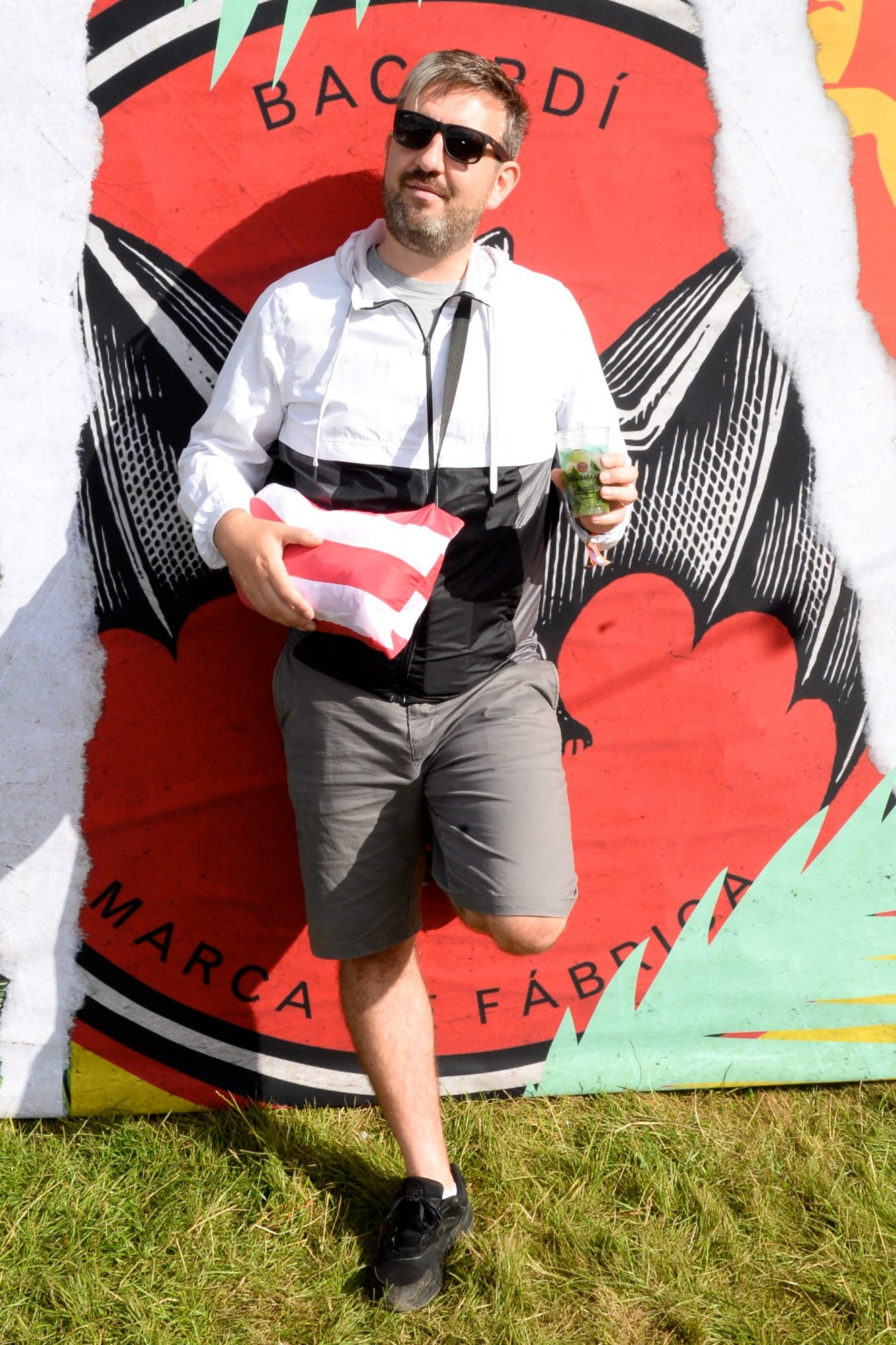 31st August 2019. Roaming O'Sullivan pictured at Casa Bacardi on day 2 of Electric Picnic. Photo: Justin Farrelly.