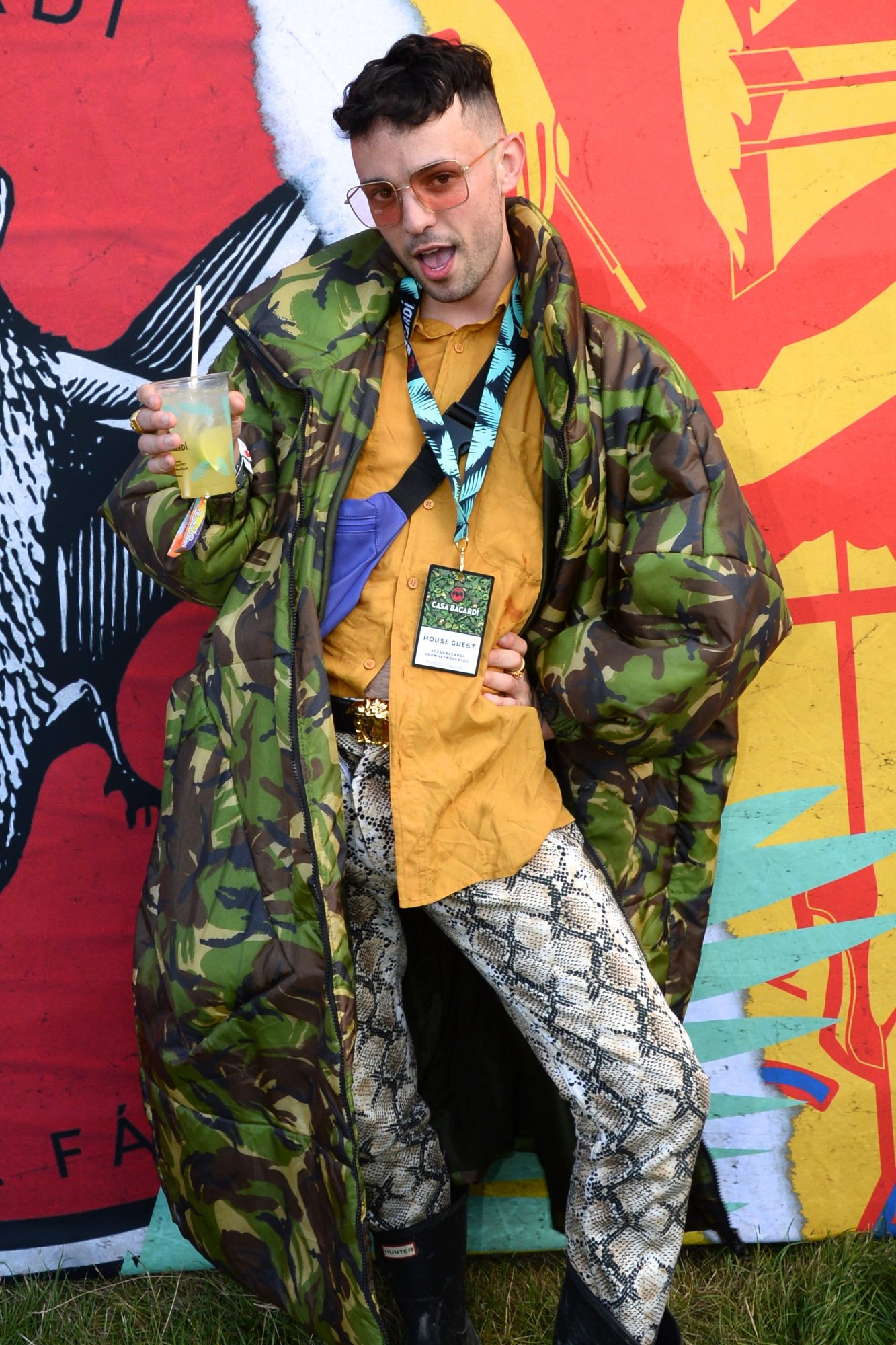 31st August 2019. James Kavanagh pictured at Casa Bacardi on day 2 of Electric Picnic. Photo: Justin Farrelly.