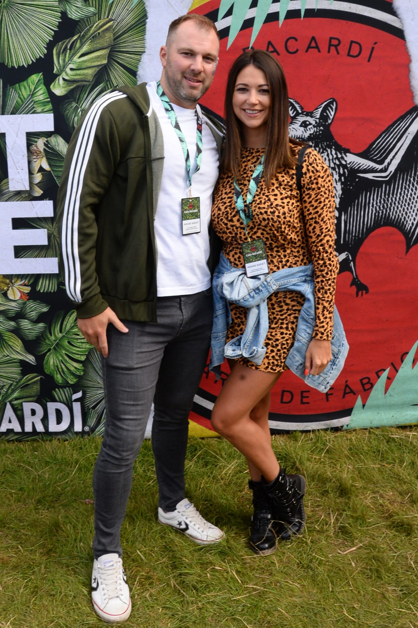 31st August 2019. Paul Devitt and Katie Hanley pictured at Casa Bacardi on day 2 of Electric Picnic. Photo: Justin Farrelly.