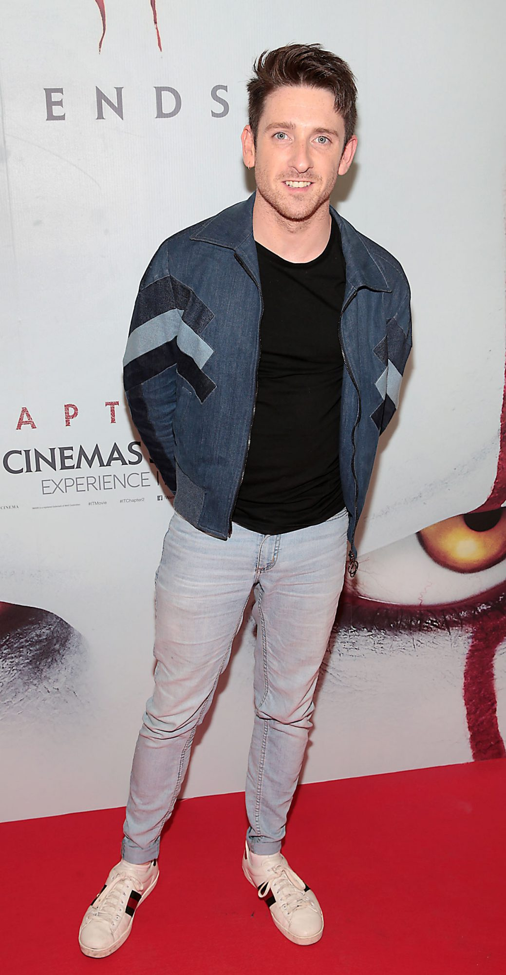 Stephen Byrne at the Irish premiere of IT Chapter 2 at the Odeon Cinema in Point Square, Dublin. Pic: Brian McEvoy
