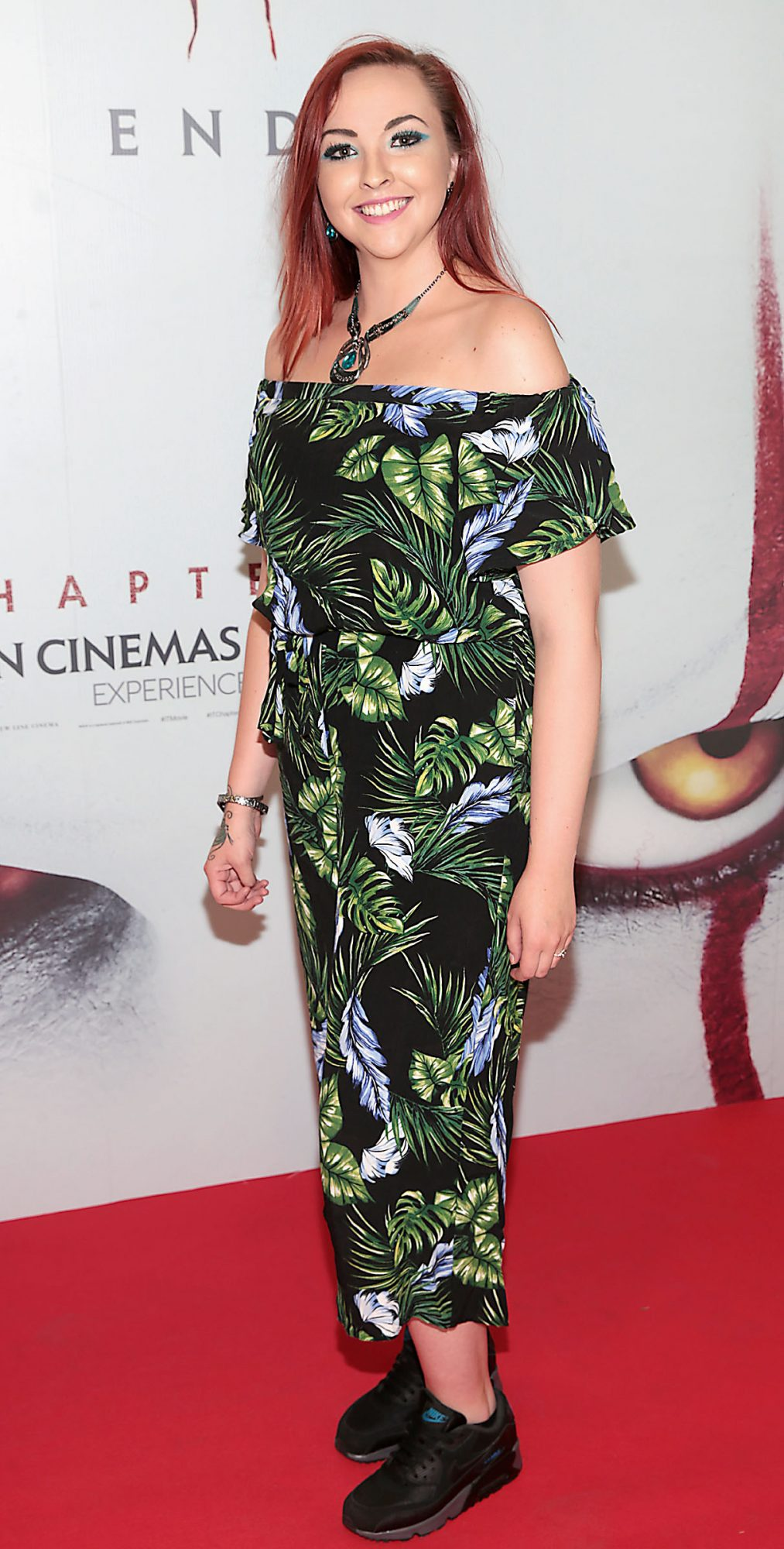 Sinead Kinsella at the Irish premiere of IT Chapter 2 at the Odeon Cinema in Point Square, Dublin. Pic: Brian McEvoy.