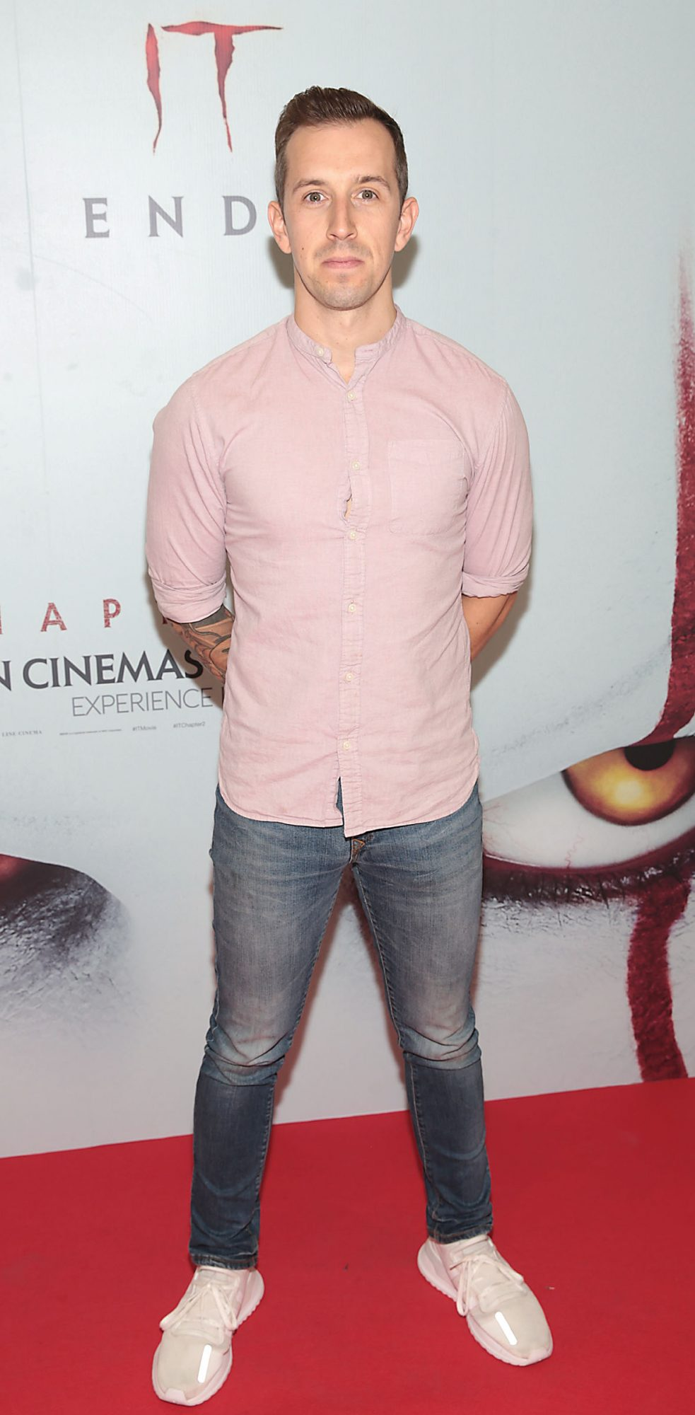 Luke O Faolain at the Irish premiere of IT Chapter 2 at the Odeon Cinema in Point Square, Dublin. Pic: Brian McEvoy.