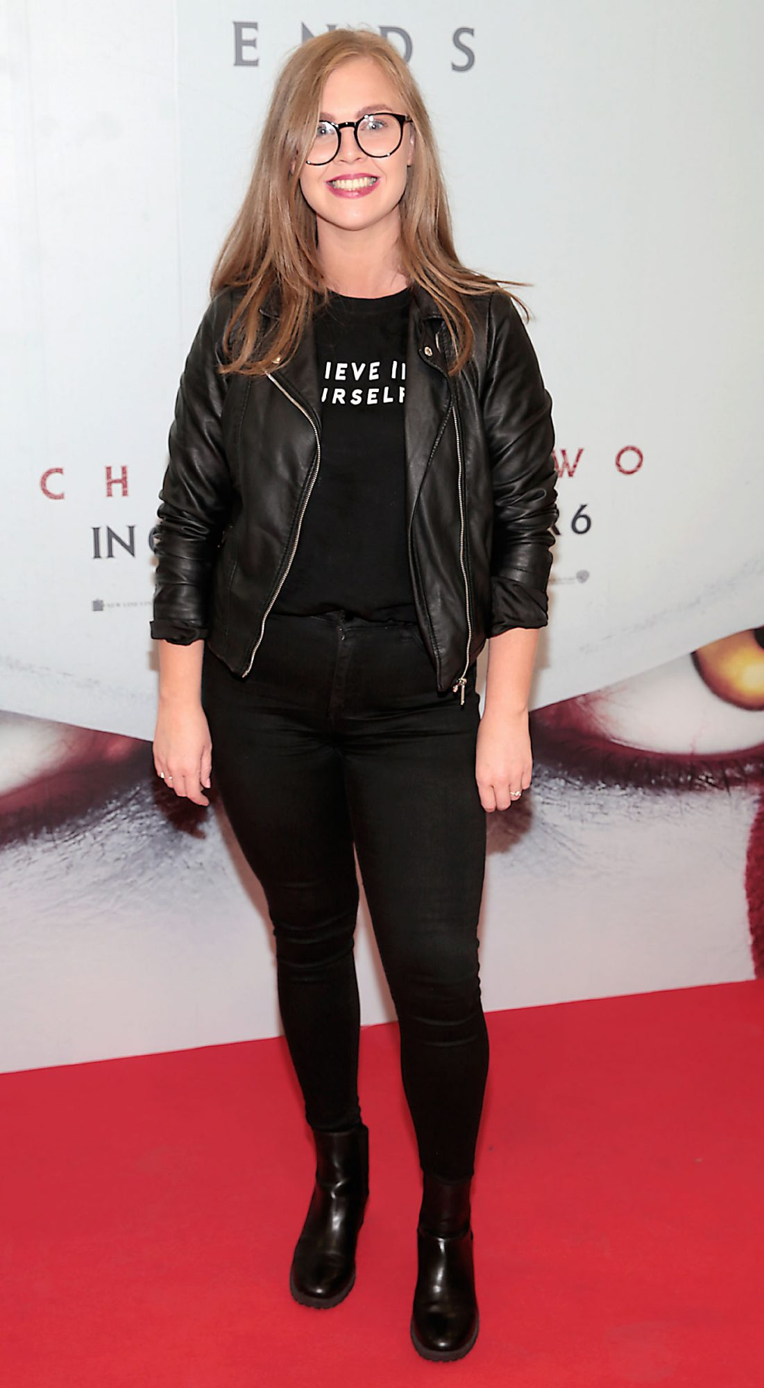 Shannen Keenan at the Irish premiere of IT Chapter 2 at the Odeon Cinema in Point Square, Dublin. Pic: Brian McEvoy.