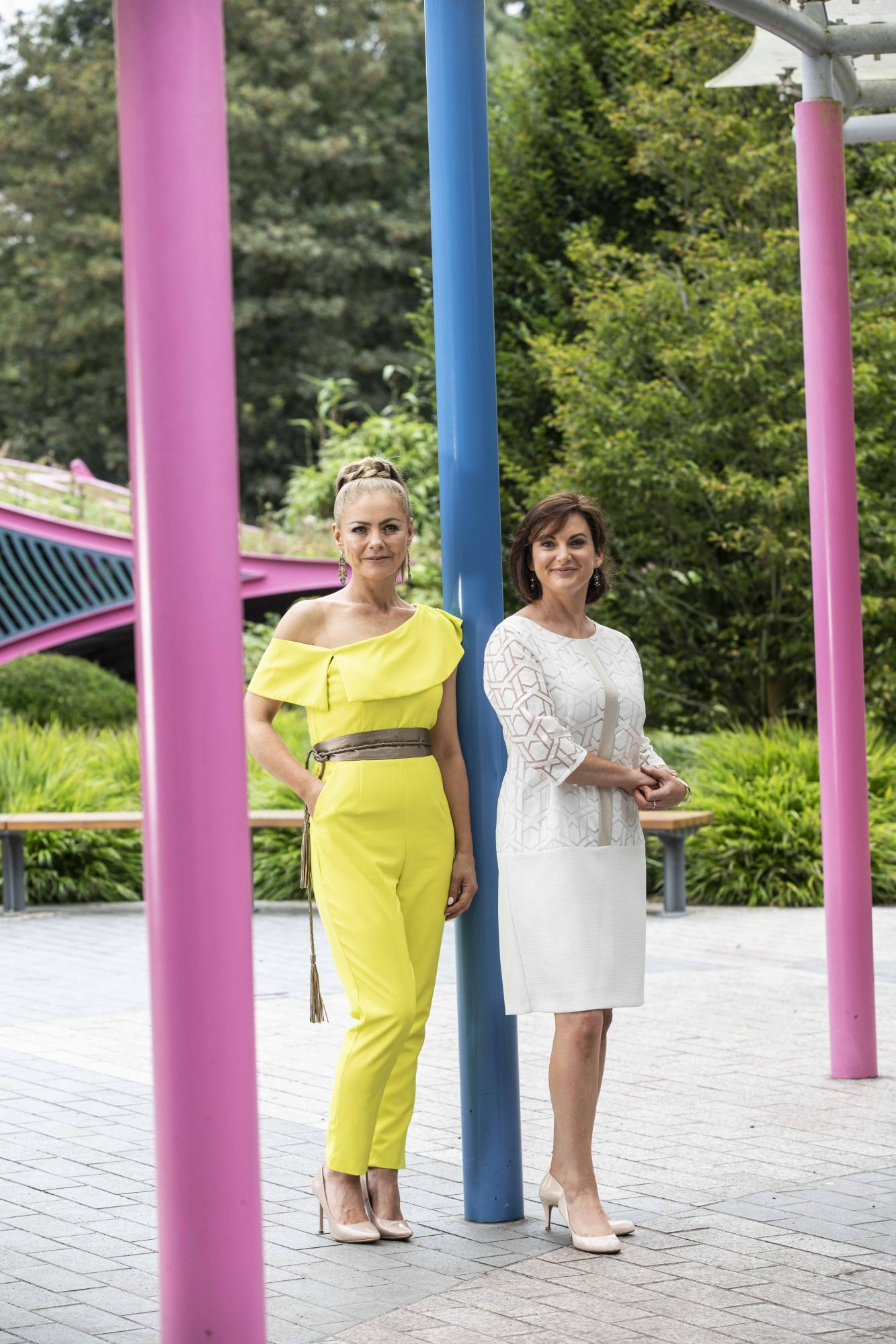 TG4's Autumn Schedule Launch in the stunning Fitzgerald Park in Cork.  Picture Clare Keogh