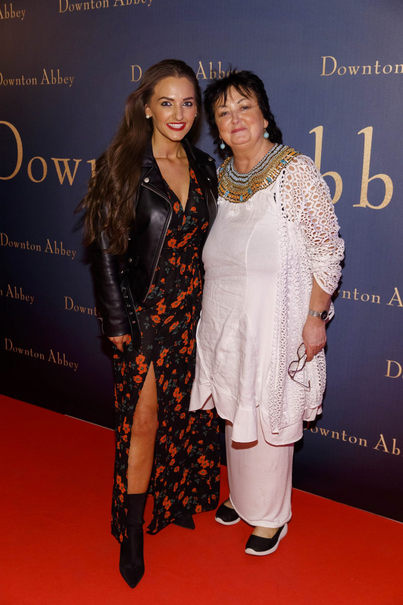 Dearbhla Toal and Noleen Toal mother  pictured at the Universal Pictures Irish premiere screening of DOWNTON ABBEY at The Stella Theatre, Rathmines. Releasing in cinemas across Ireland from this Friday September 13th, starring the original cast, the worldwide phenomenon DOWNTON ABBEY, becomes a grand motion picture event. Picture Andres Poveda