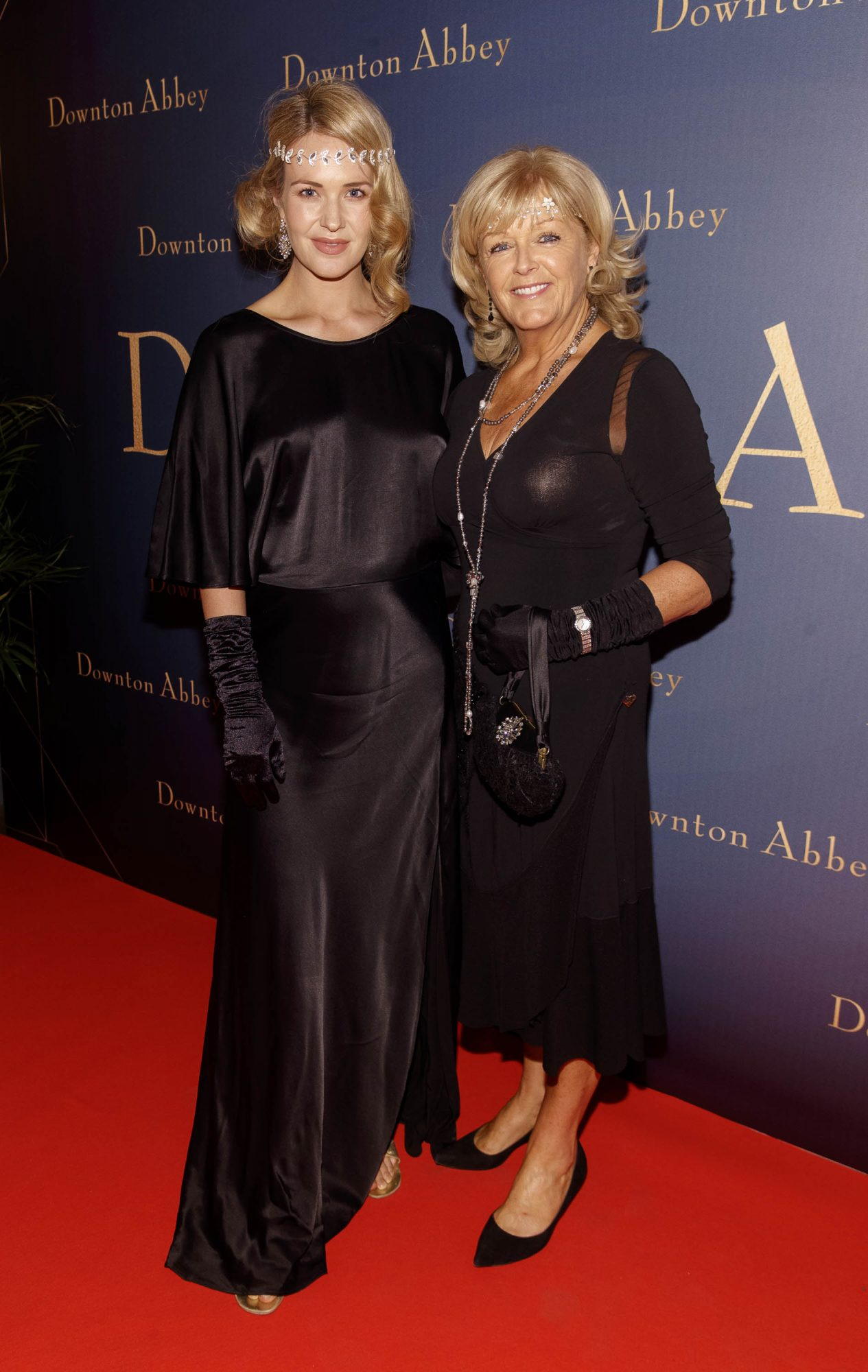 Aoibhin Garrihy and mother Clare pictured at the Universal Pictures Irish premiere screening of DOWNTON ABBEY at The Stella Theatre, Rathmines. Releasing in cinemas across Ireland from this Friday September 13th, starring the original cast, the worldwide phenomenon DOWNTON ABBEY, becomes a grand motion picture event. Picture Andres Poveda