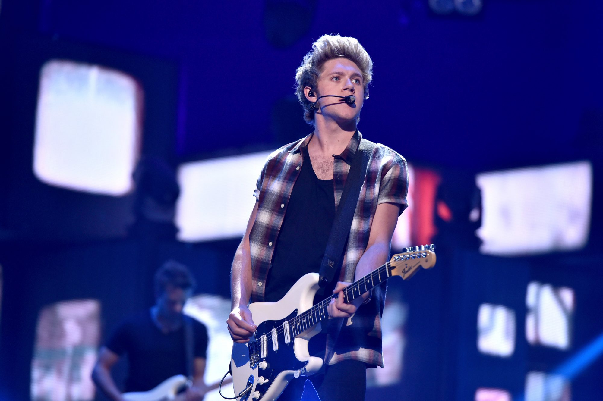 LAS VEGAS, NV - SEPTEMBER 20:  Recording artist Niall Horan of music group One Direction performs onstage during the 2014 iHeartRadio Music Festival at the MGM Grand Garden Arena on September 20, 2014 in Las Vegas, Nevada.  (Photo by Kevin Winter/Getty Images for iHeartMedia)
