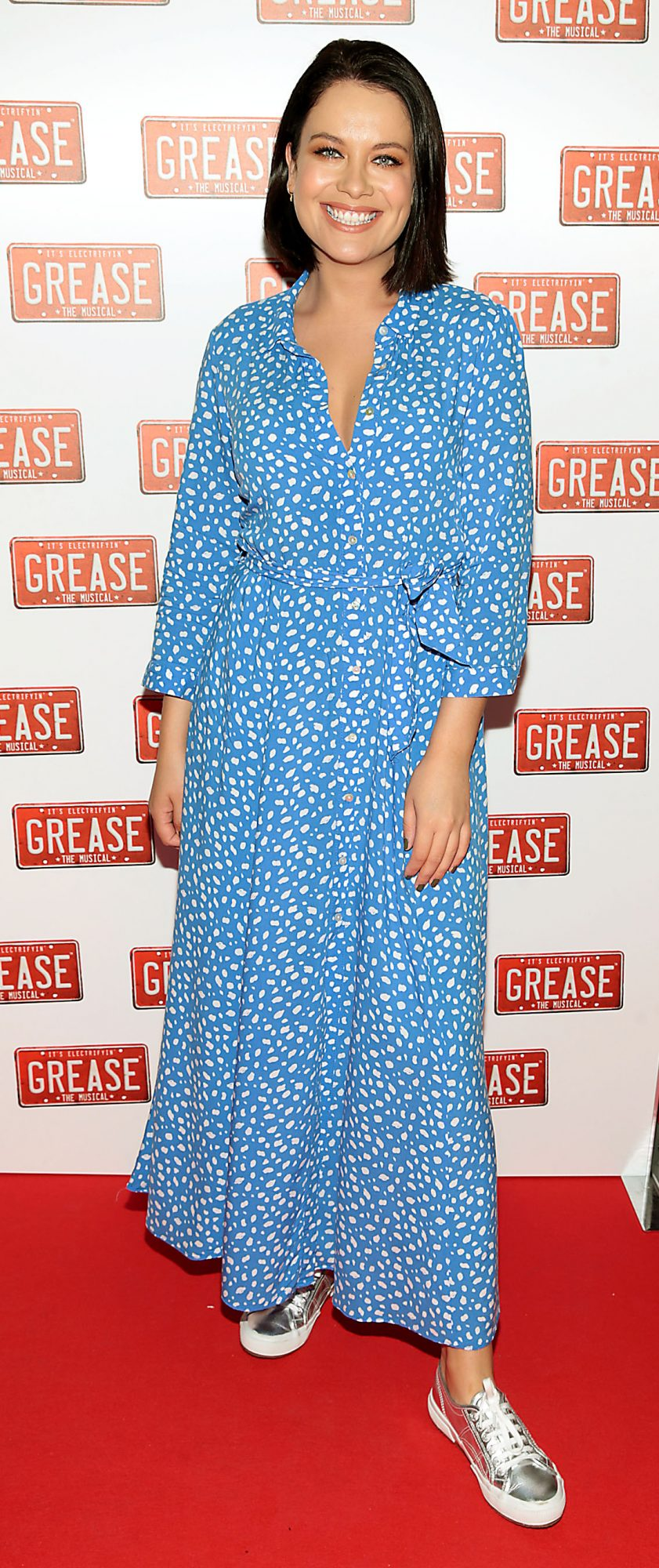 Michele McGrath pictured at the opening night of the musical Grease at the Bord Gais Energy Theatre, Dublin. Pic: Brian McEvoy
