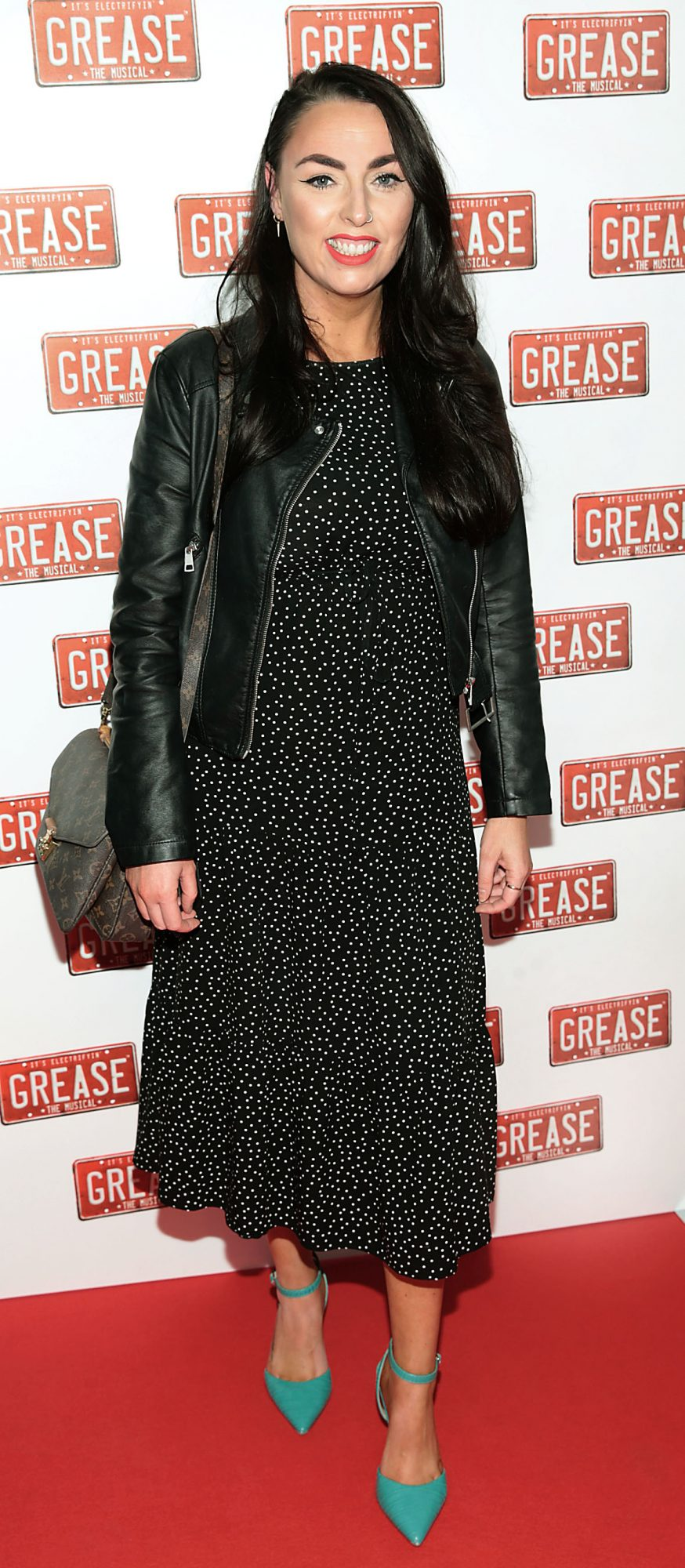 Eileen Sutton pictured at the opening night of the musical Grease at the Bord Gais Energy Theatre, Dublin. Pic: Brian McEvoy