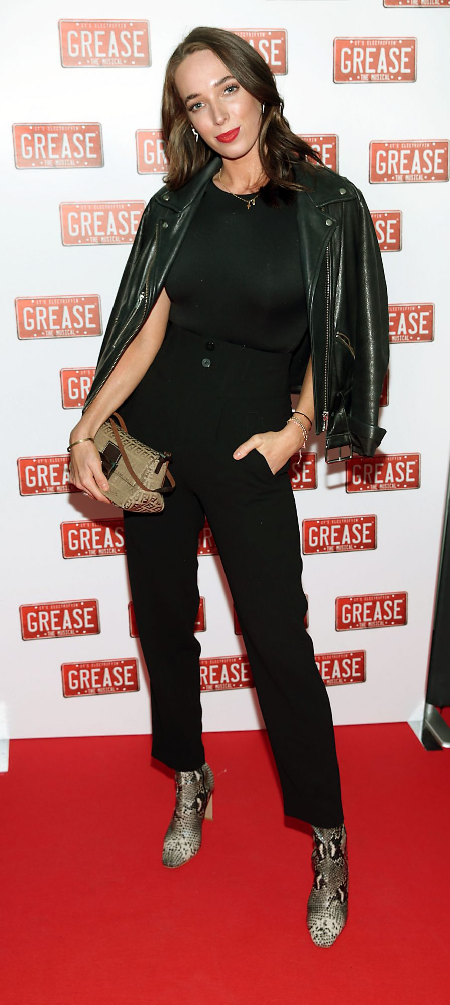 Ciara O Doherty pictured at the opening night of the musical Grease at the Bord Gais Energy Theatre, Dublin. Pic: Brian McEvoy