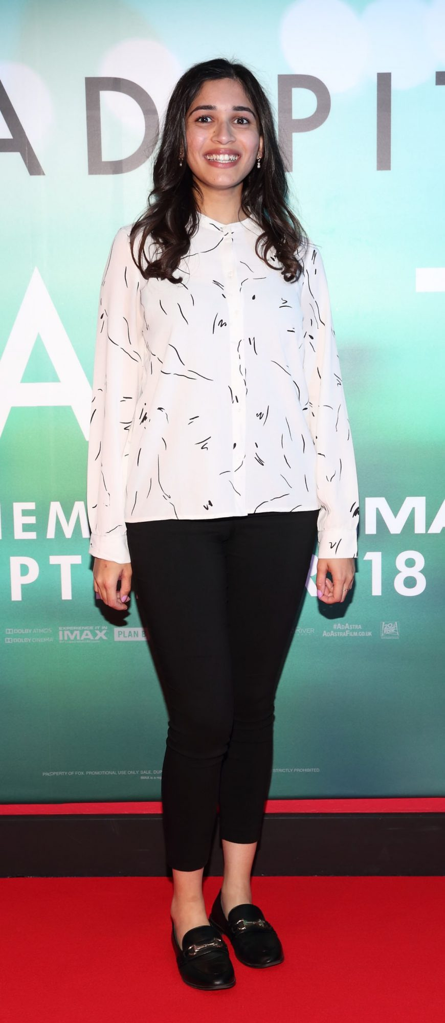 Puja Singh  at the special preview screening of Ad Astra at Cineworld, Dublin. Pic: Brian McEvoy Photography