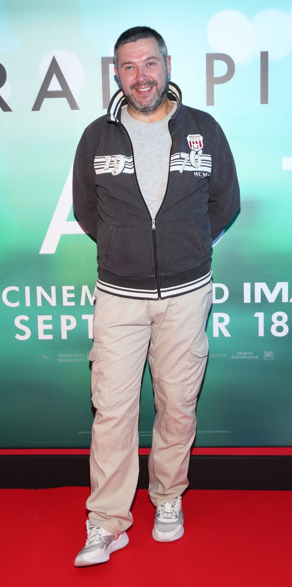 Andrzej Mat  at the special preview screening of Ad Astra at Cineworld, Dublin. Pic: Brian McEvoy Photography