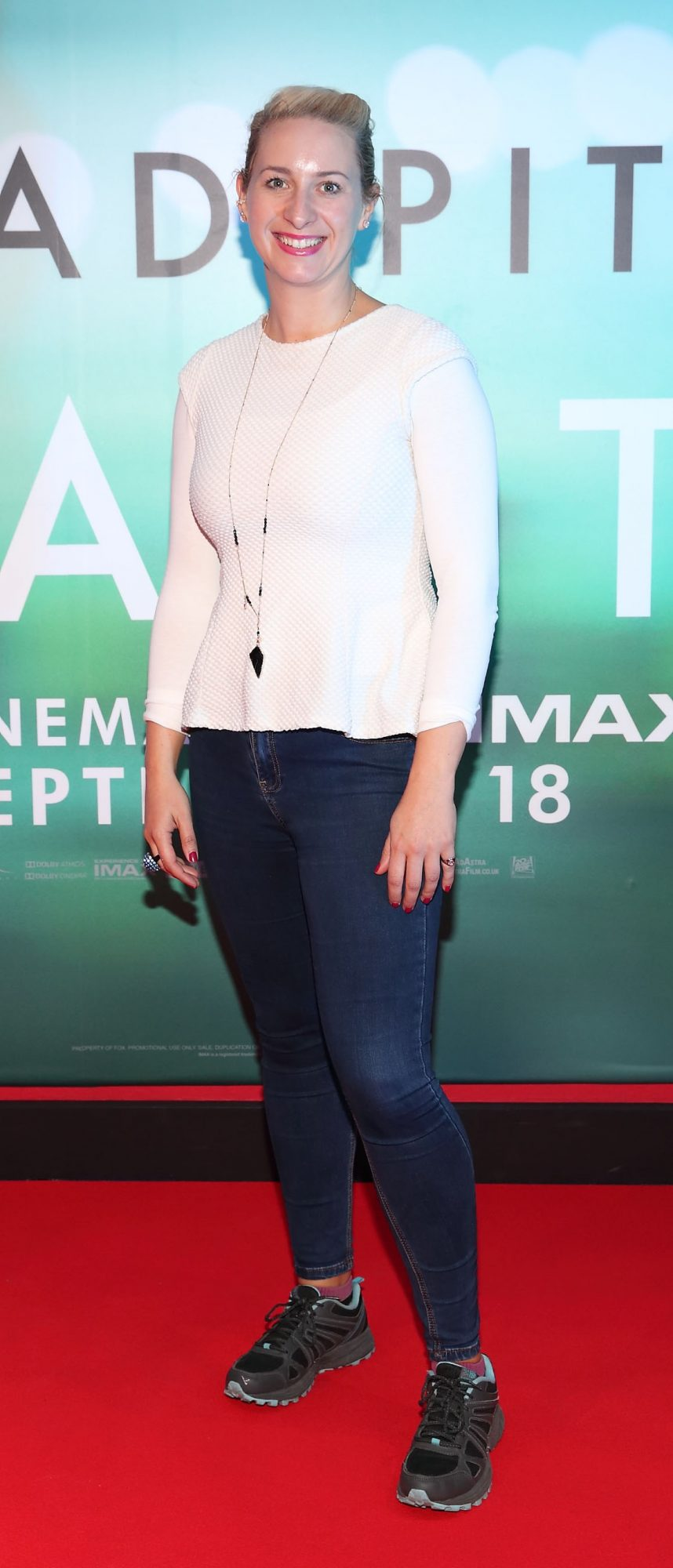 Emily Barton at the special preview screening of Ad Astra at Cineworld, Dublin. Pic: Brian McEvoy Photography
