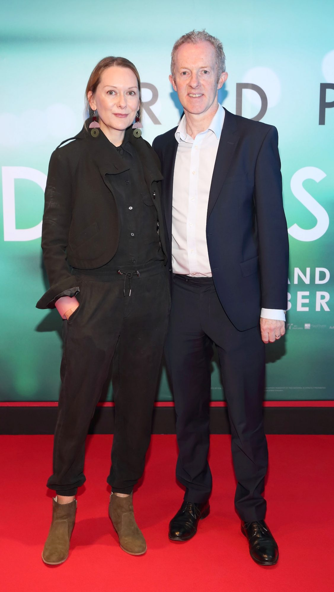 Cathy Belton and Brian Roe at the special preview screening of Ad Astra at Cineworld, Dublin. Pic: Brian McEvoy Photography