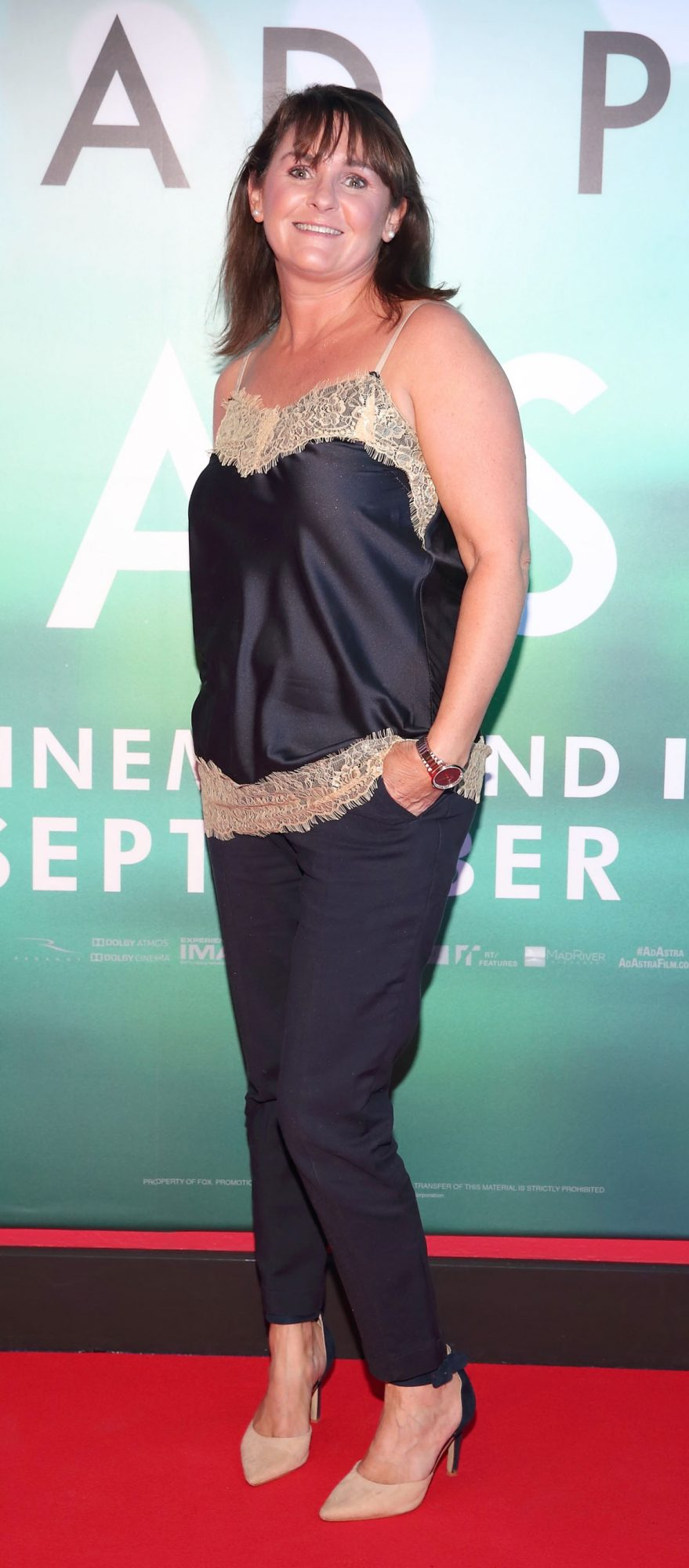 Rachel Finnegan at the special preview screening of Ad Astra at Cineworld, Dublin. Pic: Brian McEvoy Photography