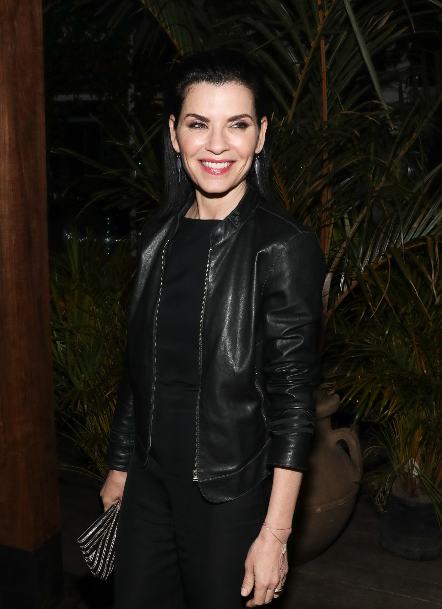 """NEW YORK, NEW YORK - JUNE 11:Actress Julianna Margulies attends the  New York Screening of """"Jett"""" - after party at Gitano Jungle Terraces on June 11, 2019 in New York City. (Photo by Bennett Raglin/Getty Images)"""