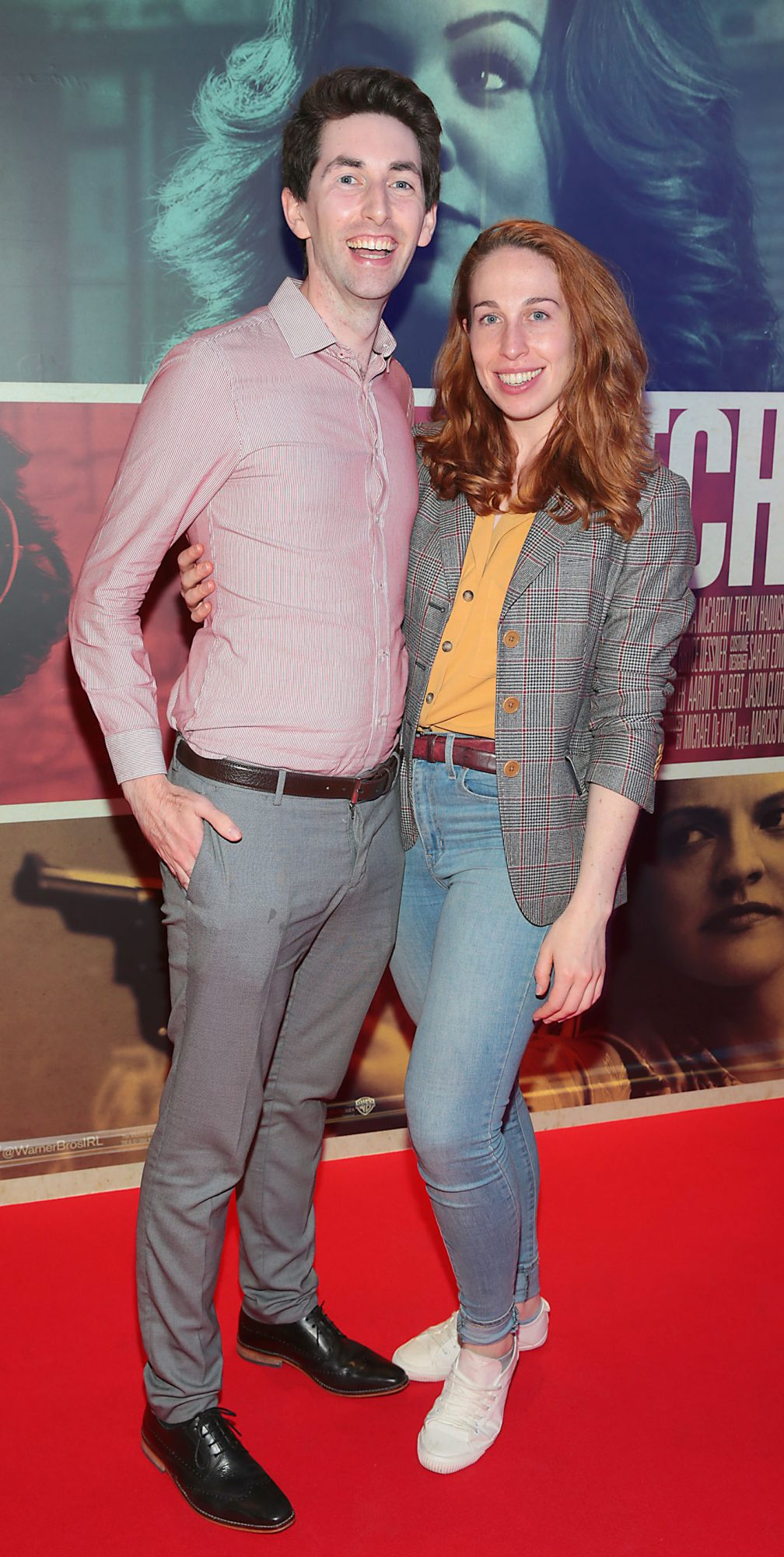 David Naughton and Jenny Kenny at the special preview screening of The Kitchen at Cineworld, Dublin.  Picture: Brian McEvoy