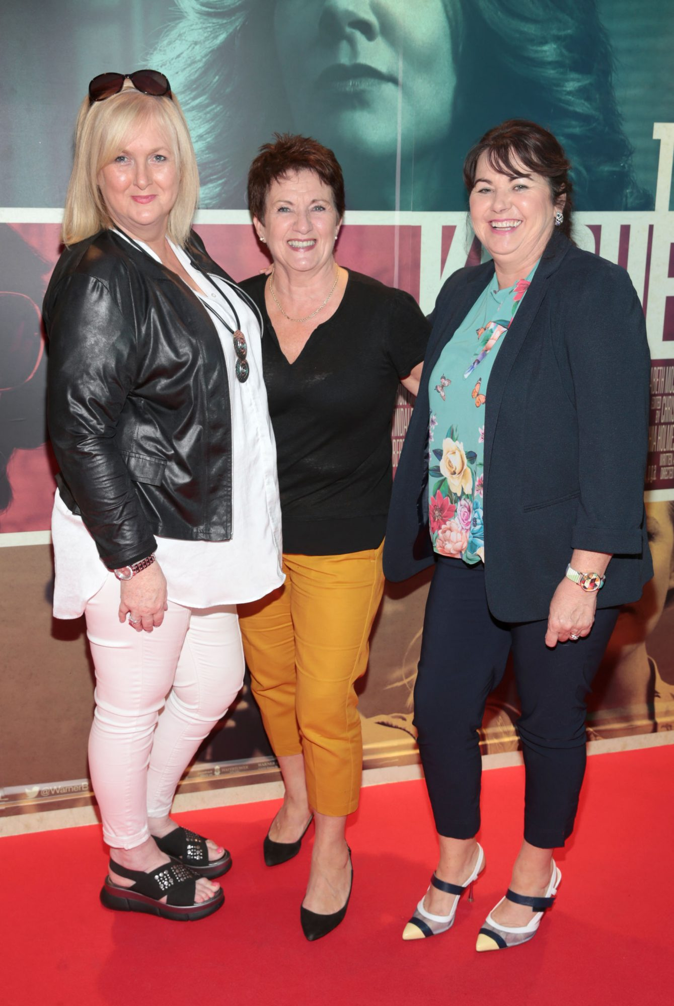 Pauline Keily, Valerie Temple and Vivienne Kavanagh at the special preview screening of The Kitchen at Cineworld, Dublin.  Picture: Brian McEvoy