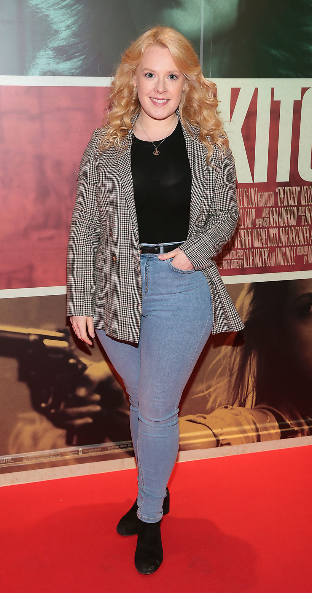 Rebecca Hickey at the special preview screening of The Kitchen at Cineworld, Dublin.  Picture: Brian McEvoy