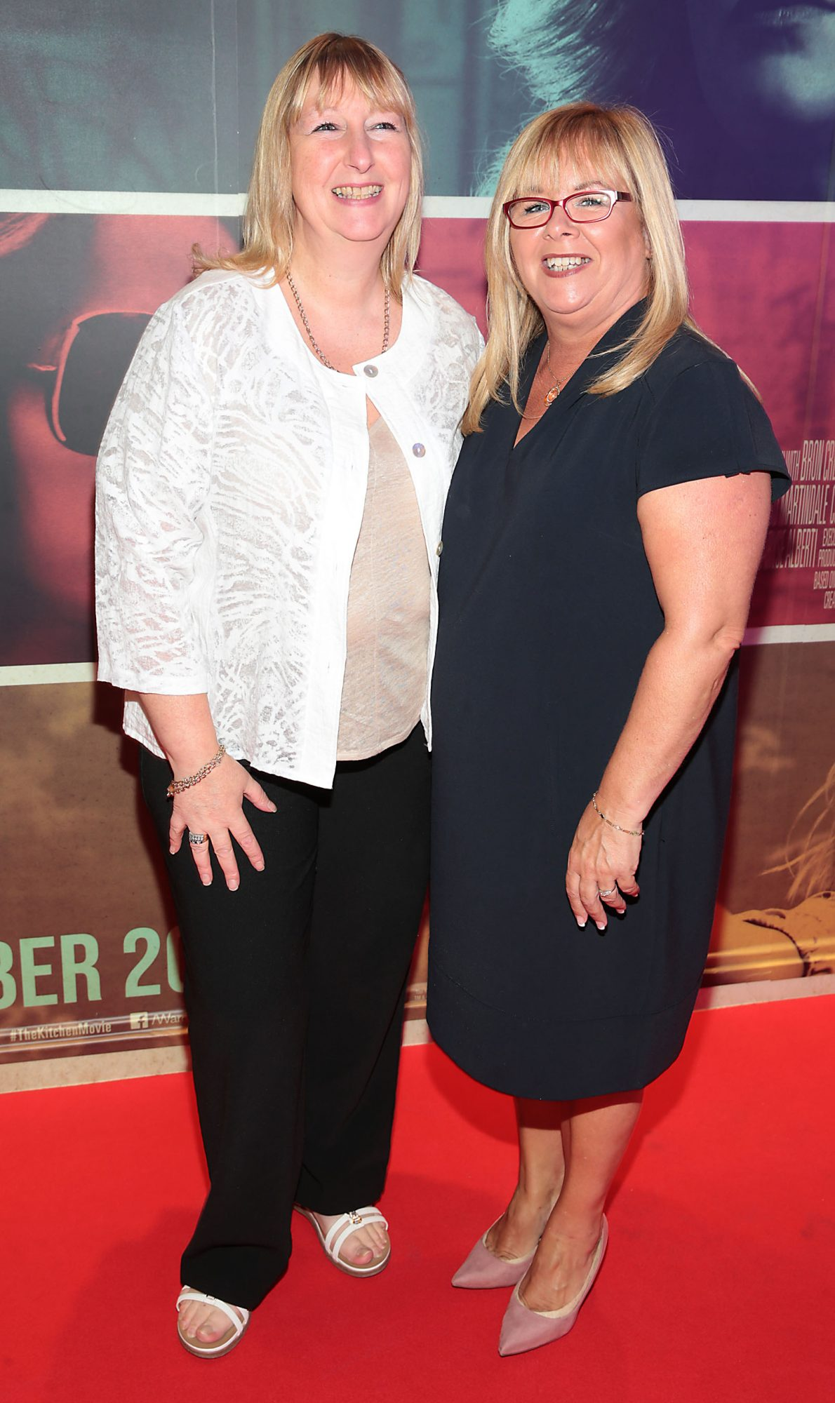 Carla Rea and Phil Meredith at the special preview screening of The Kitchen at Cineworld, Dublin.  Picture: Brian McEvoy