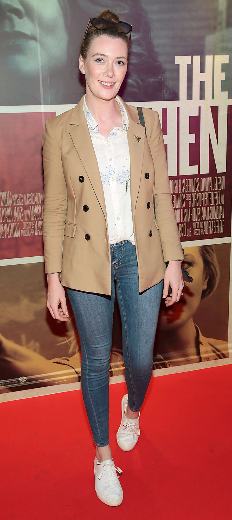 Laura Jayne Halton at the special preview screening of The Kitchen at Cineworld, Dublin.  Picture: Brian McEvoy