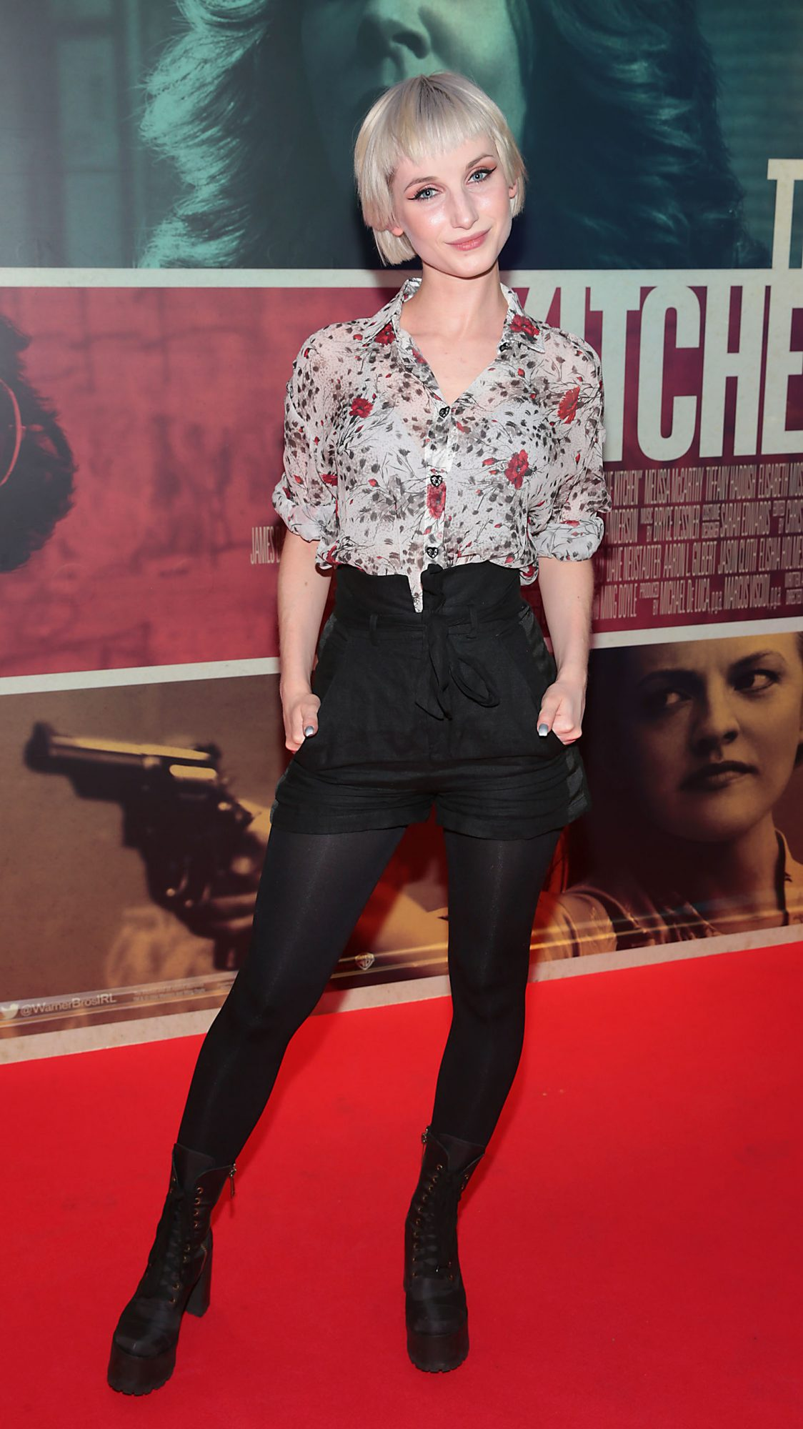 Sara Berger at the special preview screening of The Kitchen at Cineworld, Dublin.  Picture: Brian McEvoy