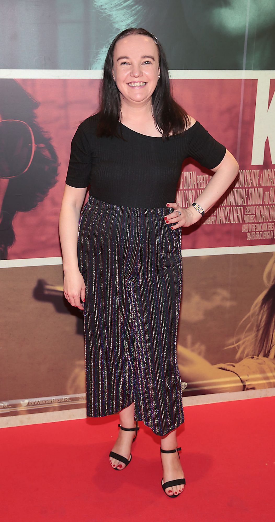 Sandra Newman at the special preview screening of The Kitchen at Cineworld, Dublin.  Picture: Brian McEvoy